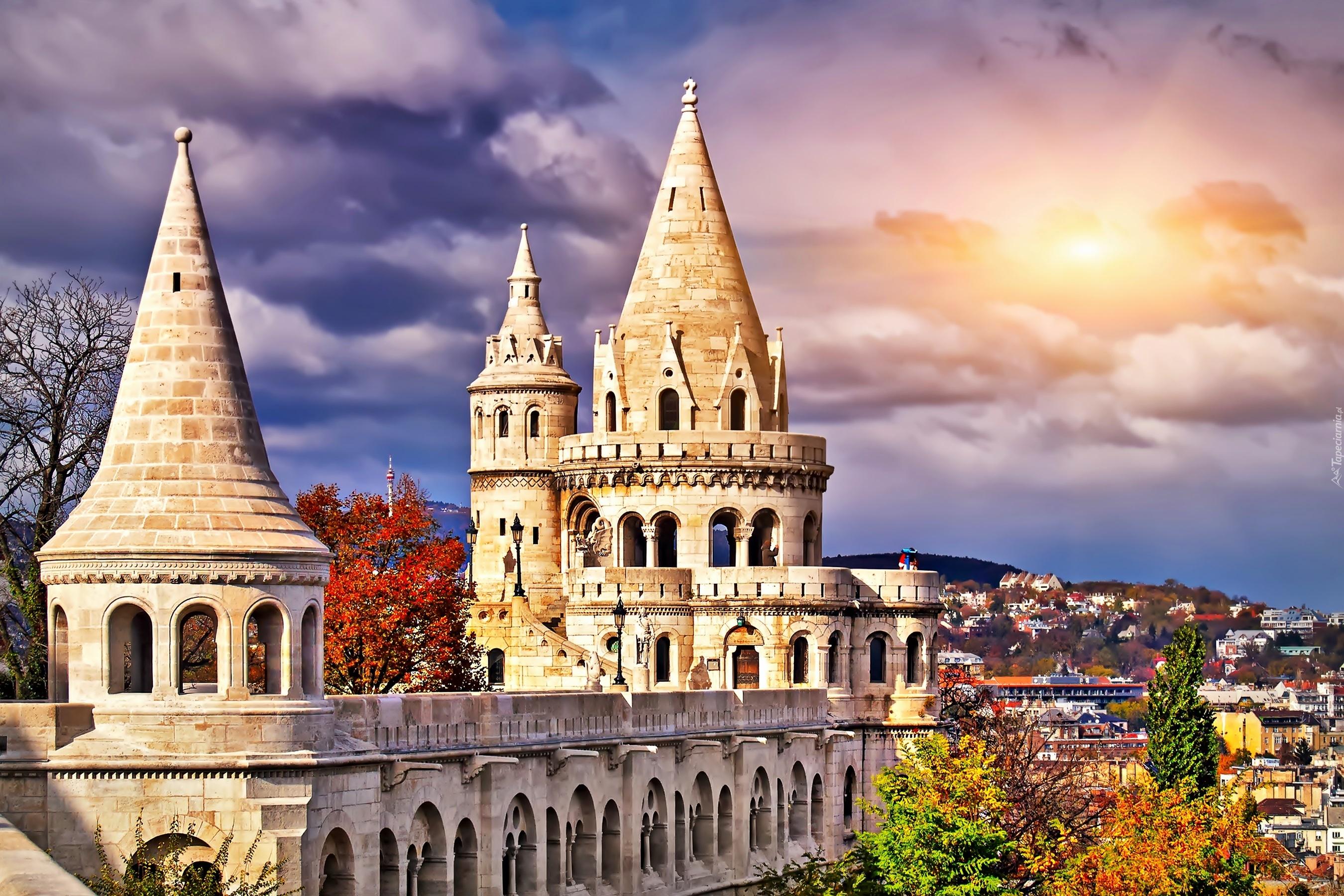 Baszta, Rybacka, Panorama, Budapesztu