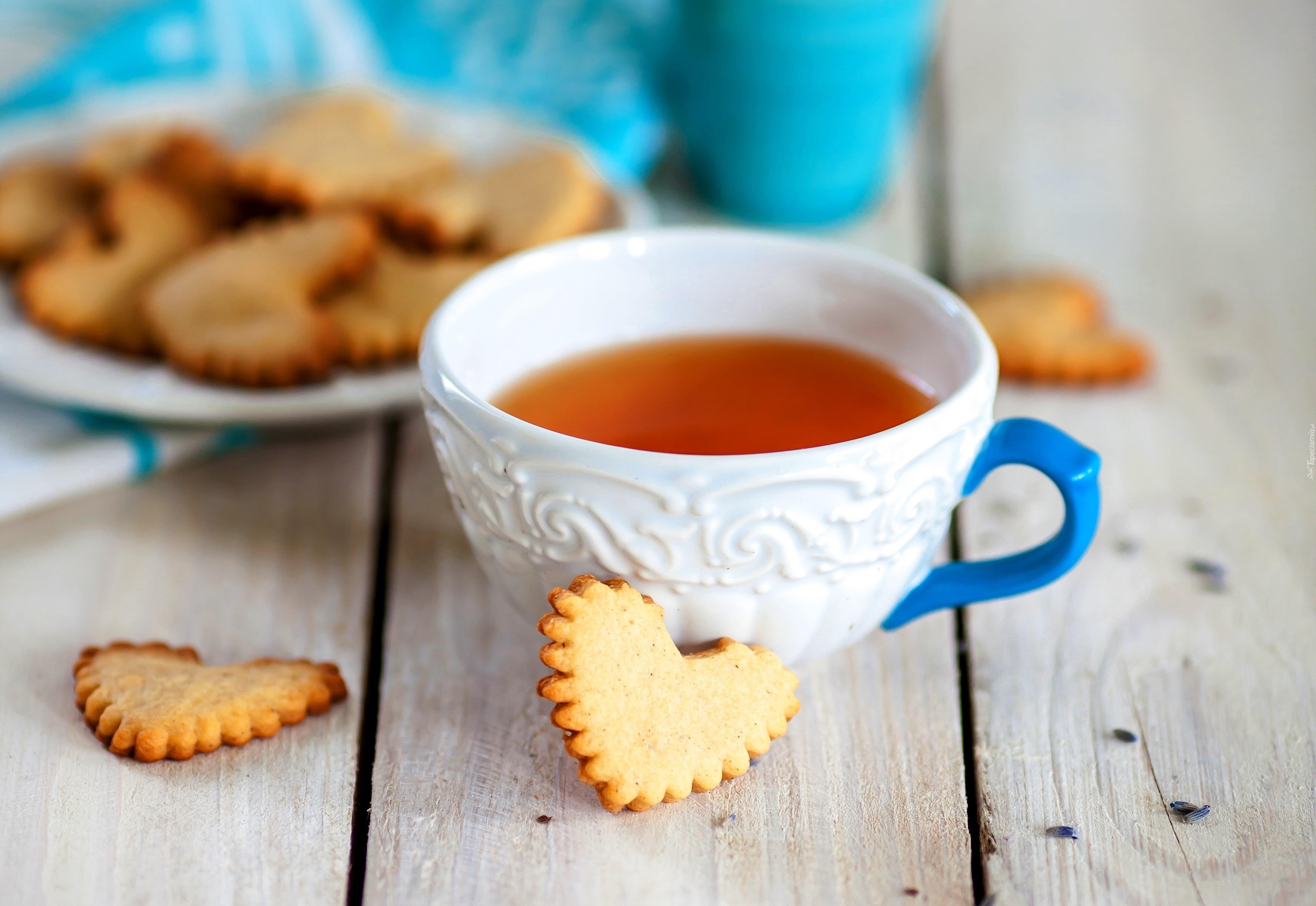 чай с печеньем фото