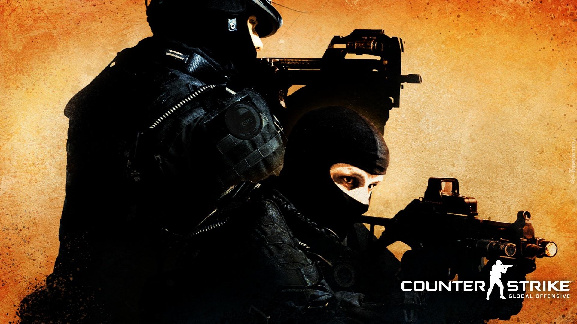 Counter Strike Go Dwaj Antyterroryści Pomarańczowy