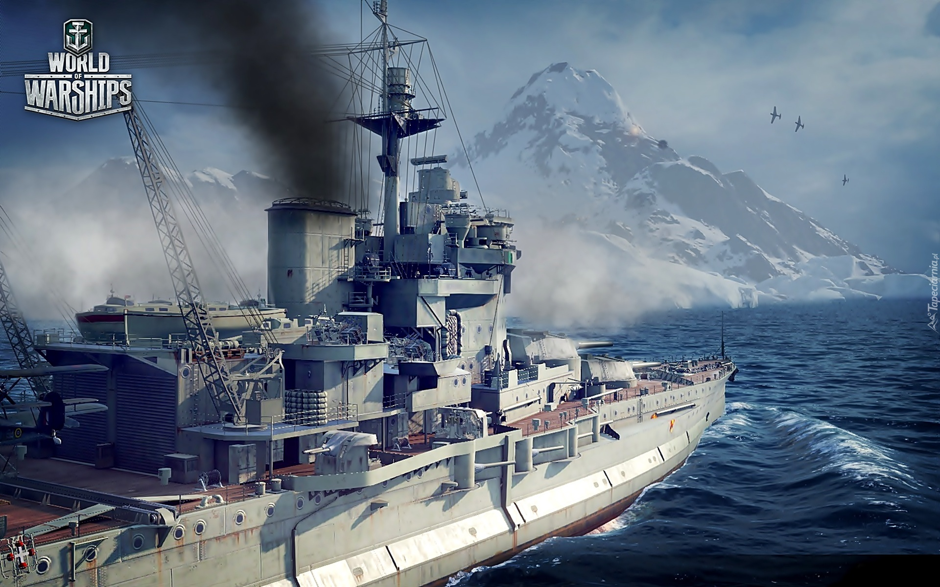 World Of Warships, Morze, Statek