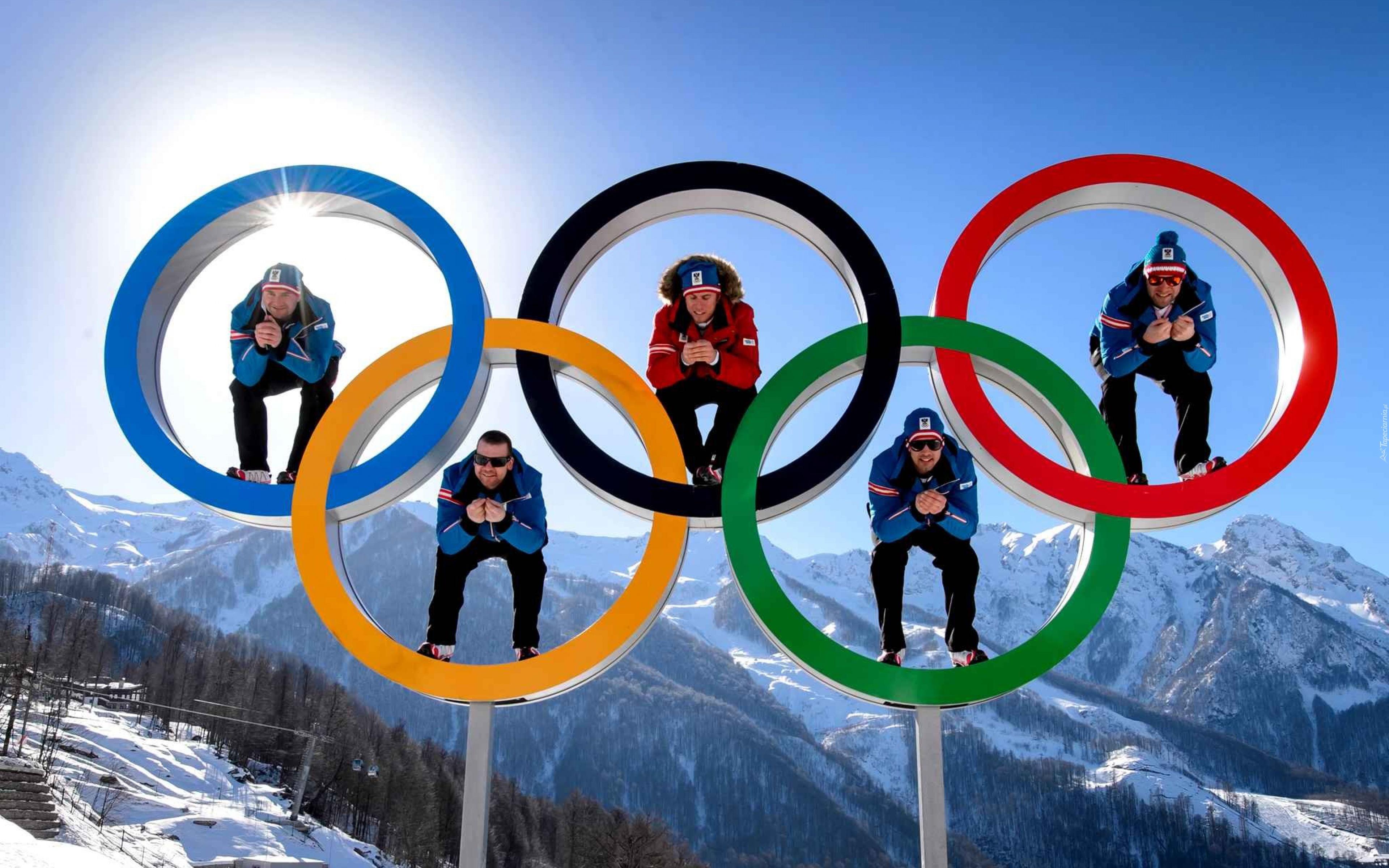 Igrzyska Olimpijskie Олимпийские Кольца