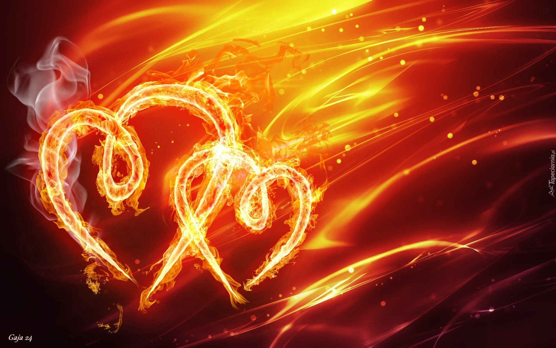 Огненное сердце картинки