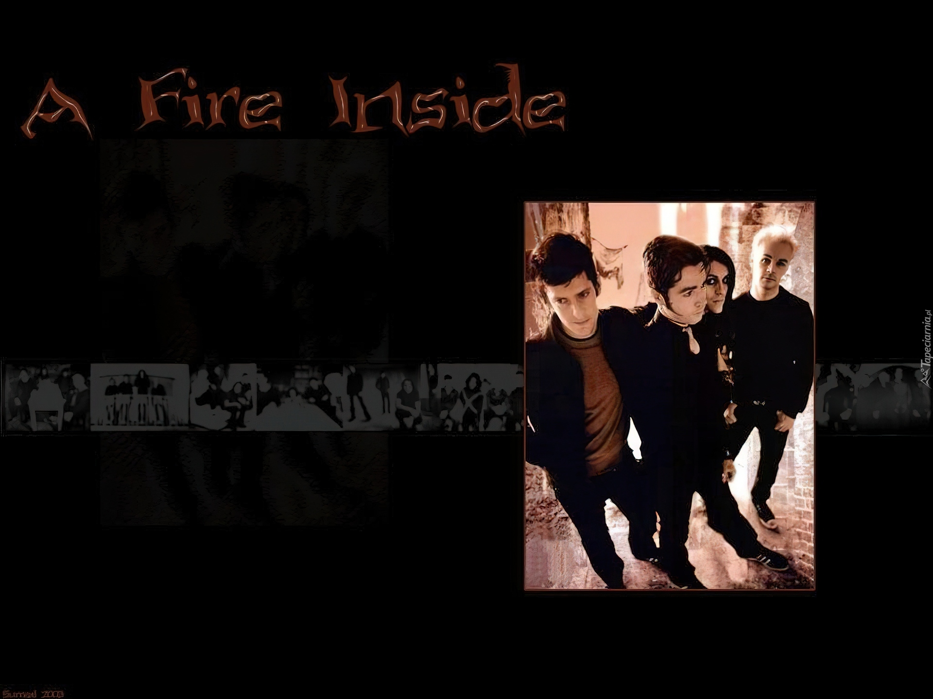 Afi,a fire inside