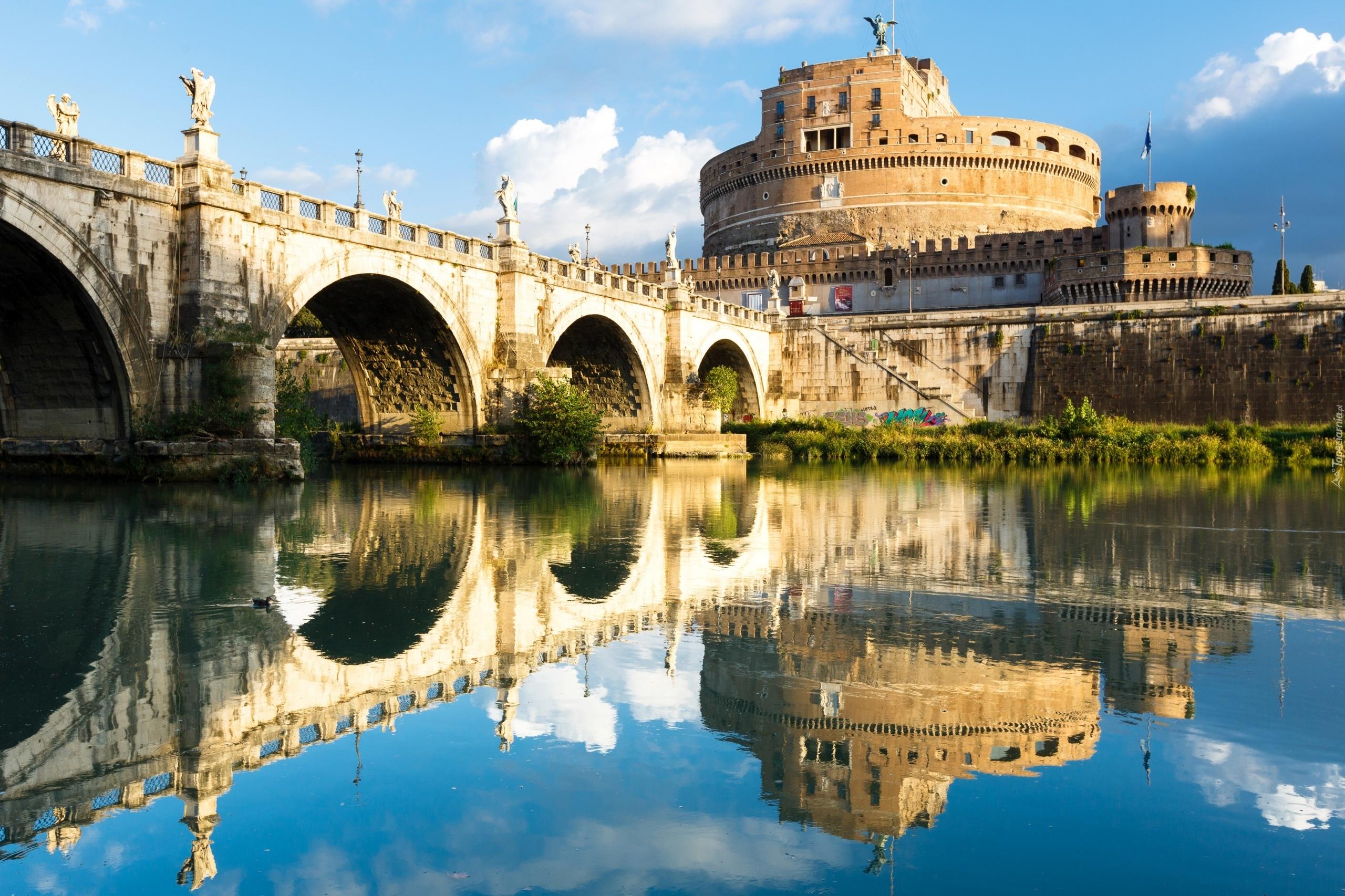 W ochy rzym rzeka tyber most w anio a for Programas para arquitectura para pc