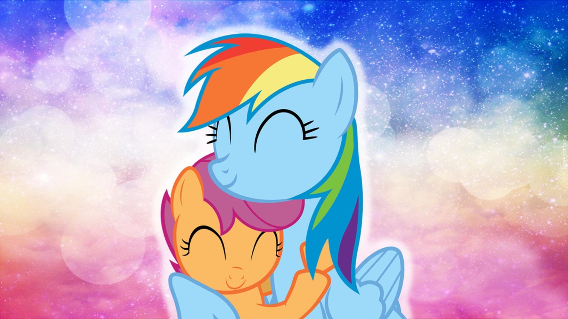 Дружба это чудо картинки радуга и скуталу фото