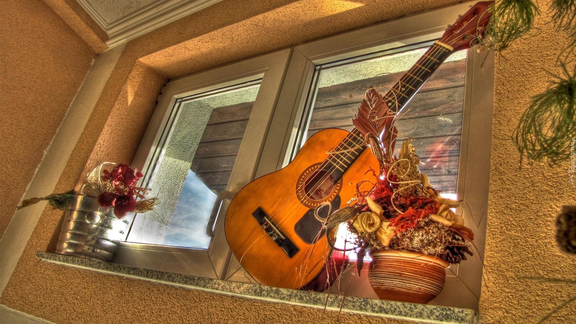 цветок на гитаре в хорошем качестве