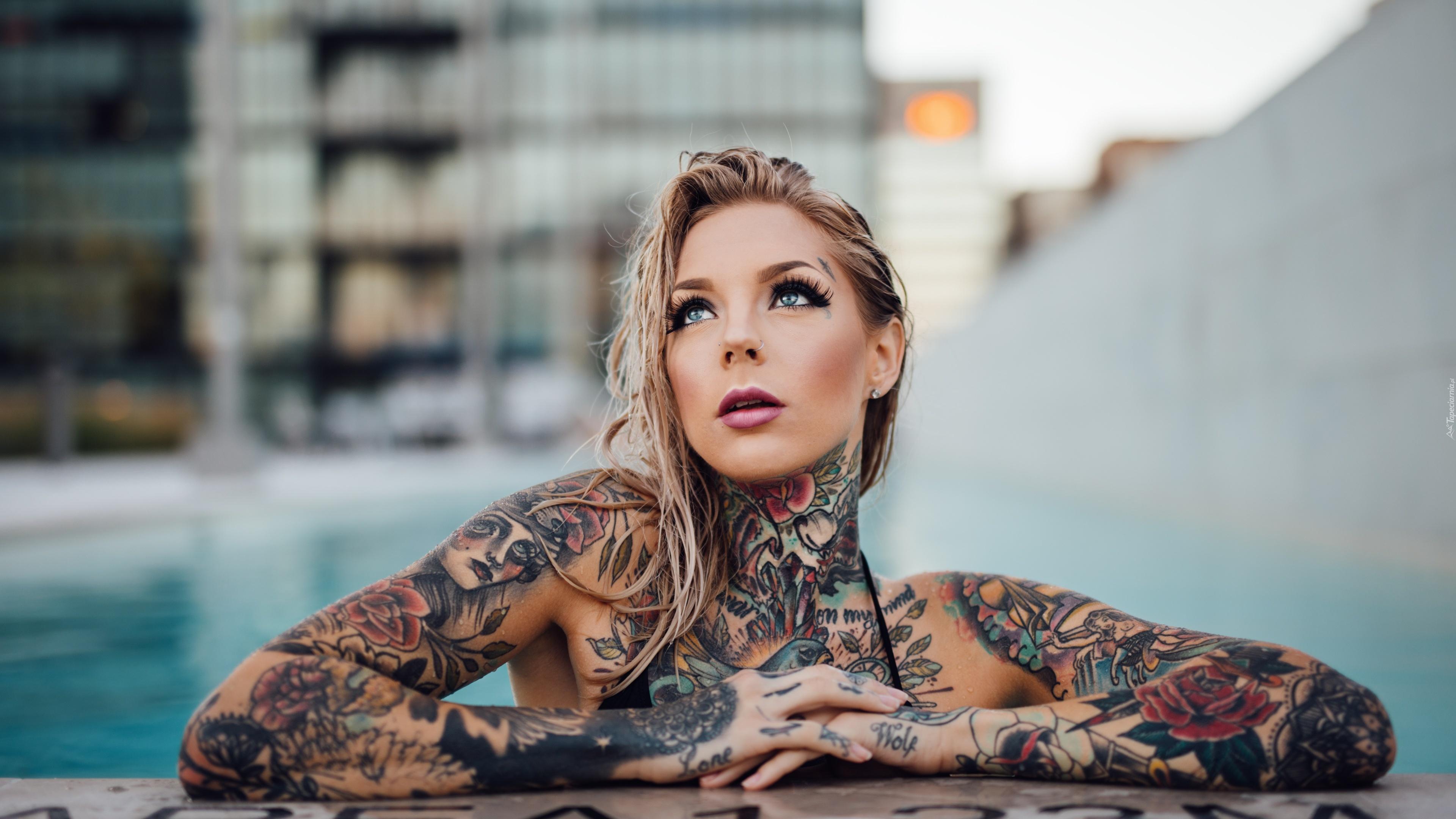 Kobieta Tatuaż