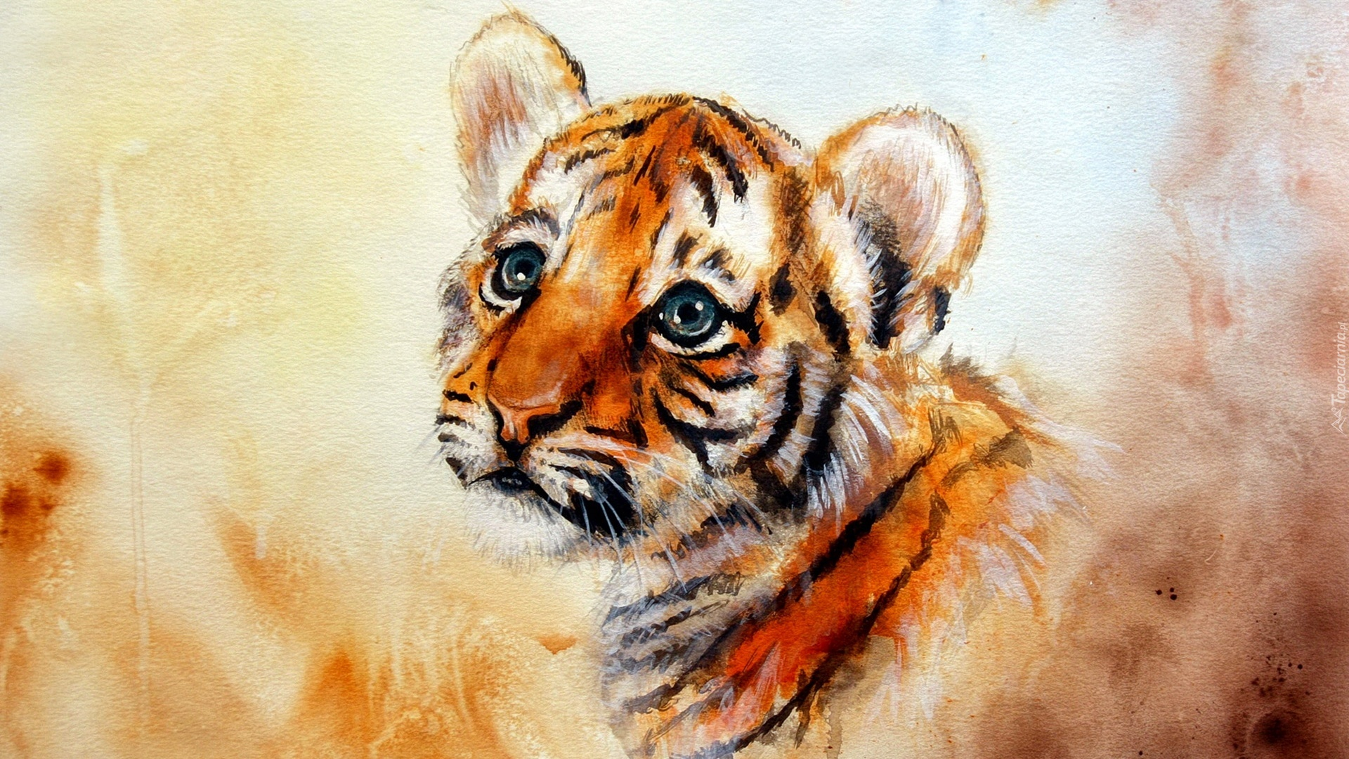 Painting Tigers Acrylic