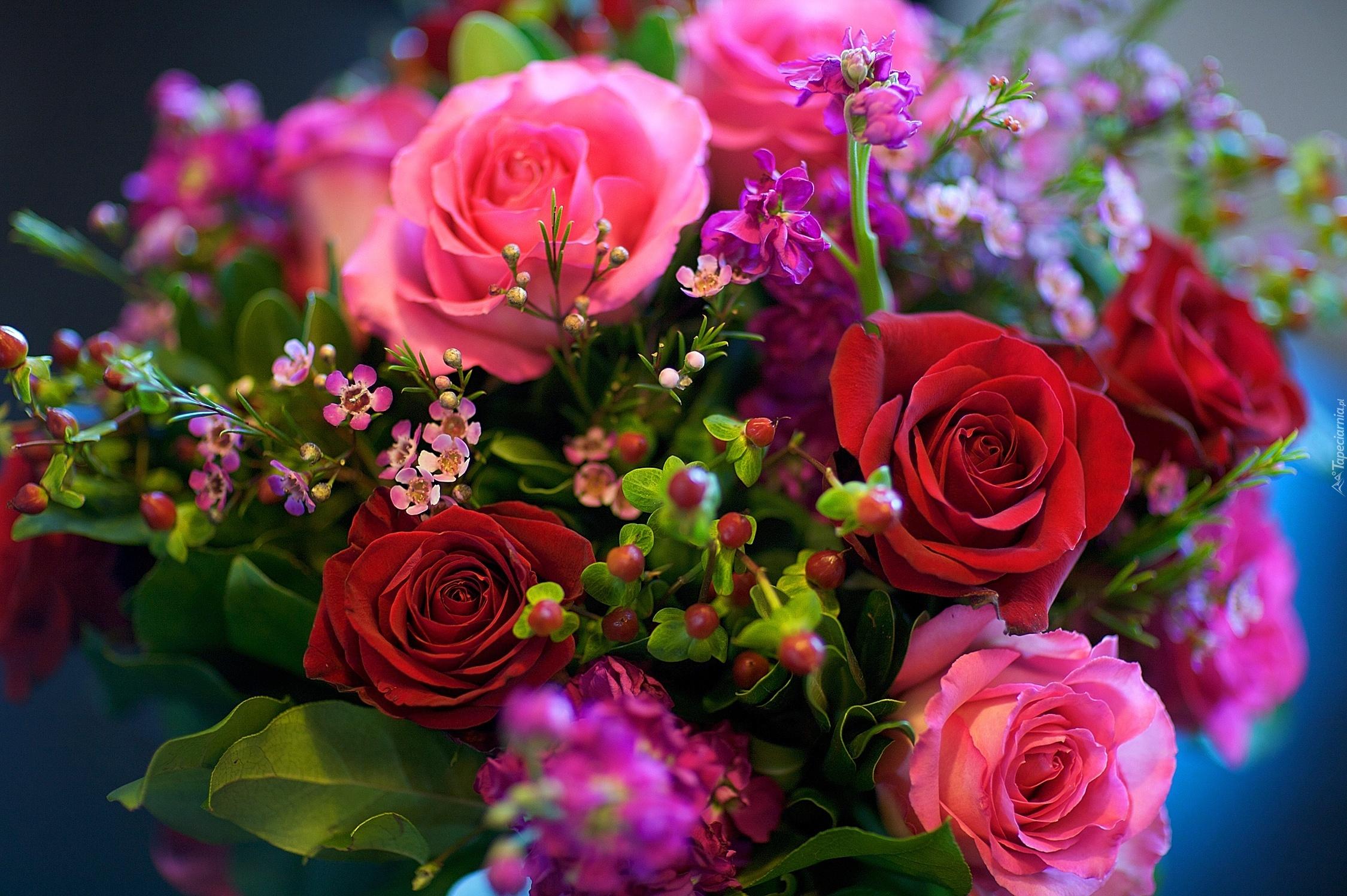 Фото с красивыми букетами цветов