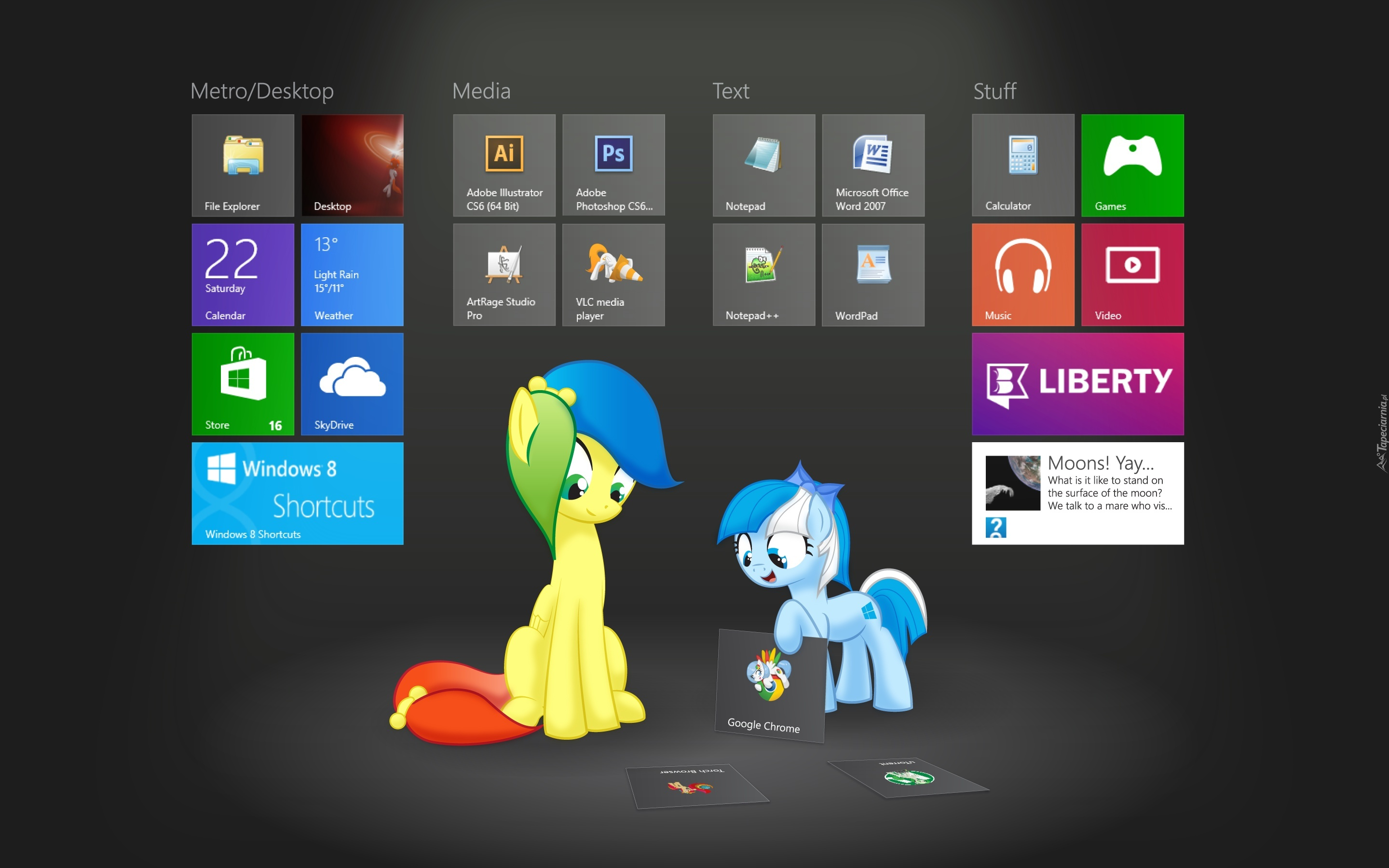 Windows 8, VLC