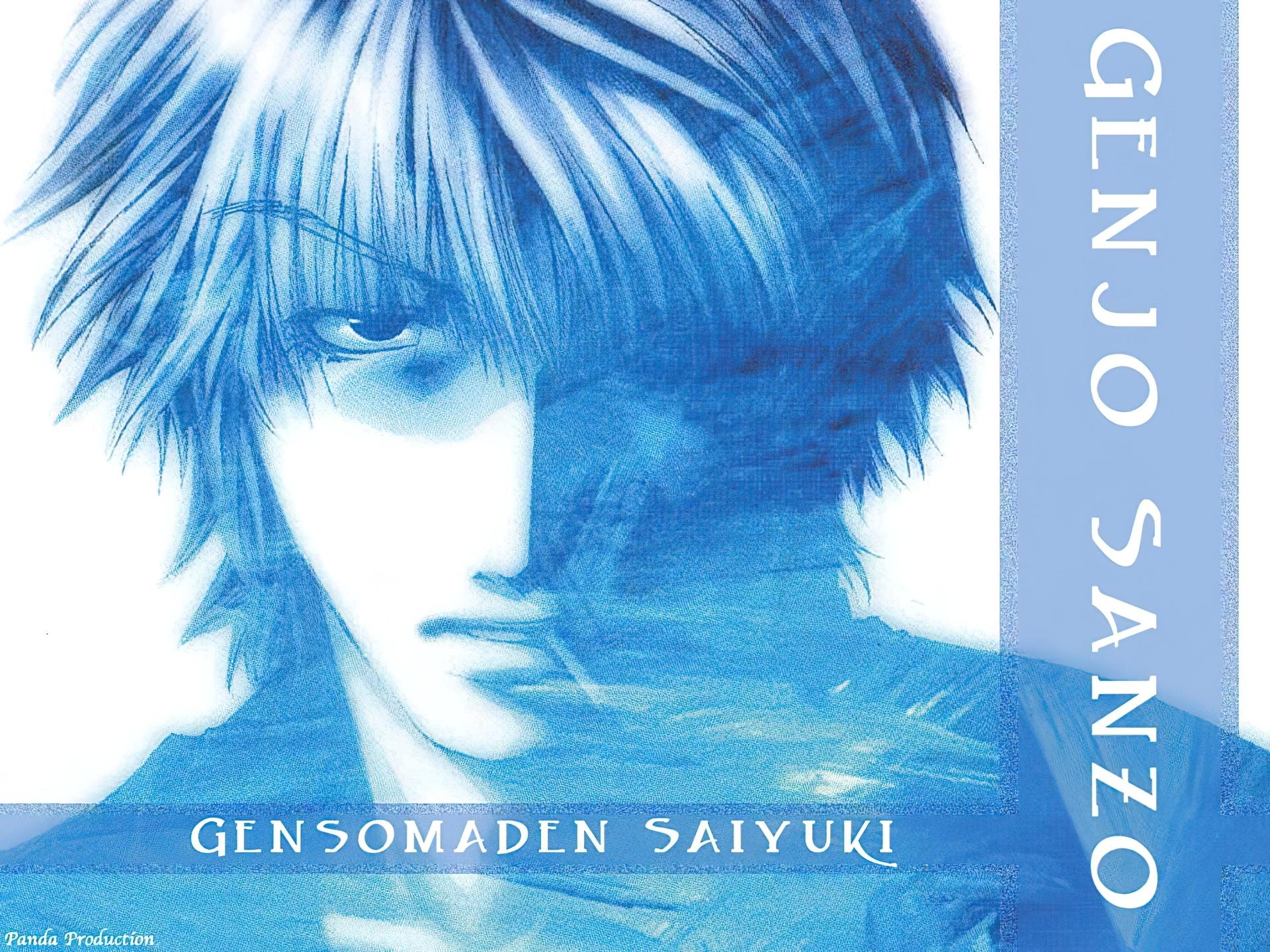 Saiyuki, sanzo, postać