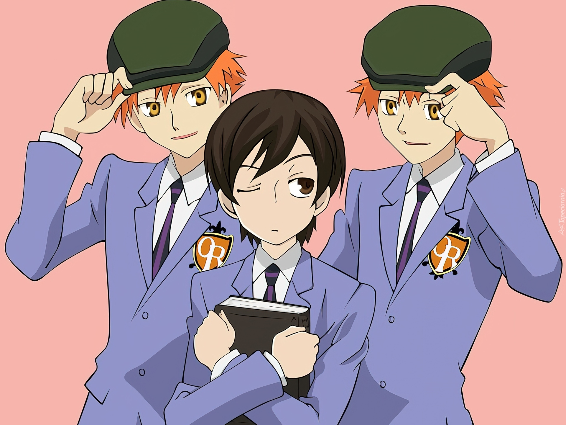 Ouran Highschool Host Club Crest Ouran High Scho...
