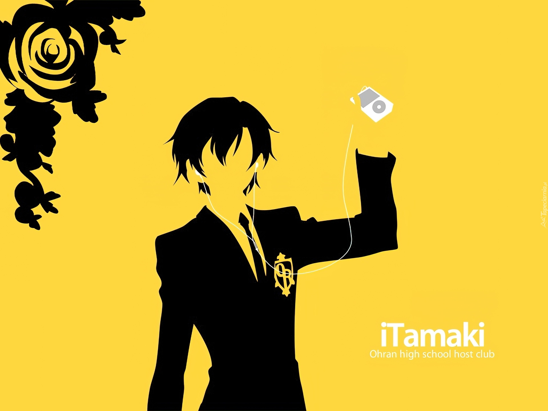 Ouran High School Host Club, itamaki, ipod