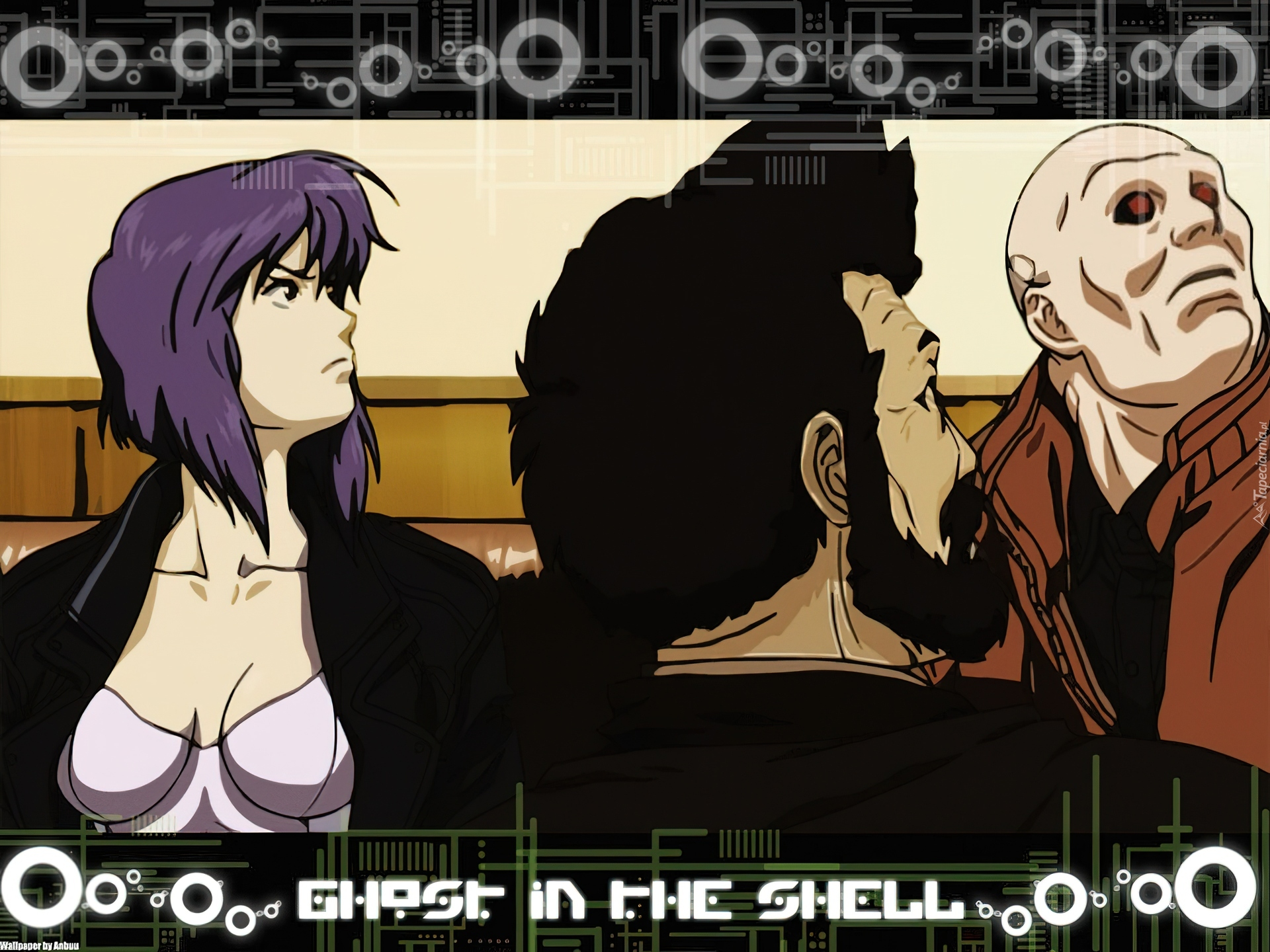 Ghost In The Shell, ludzie, napisy