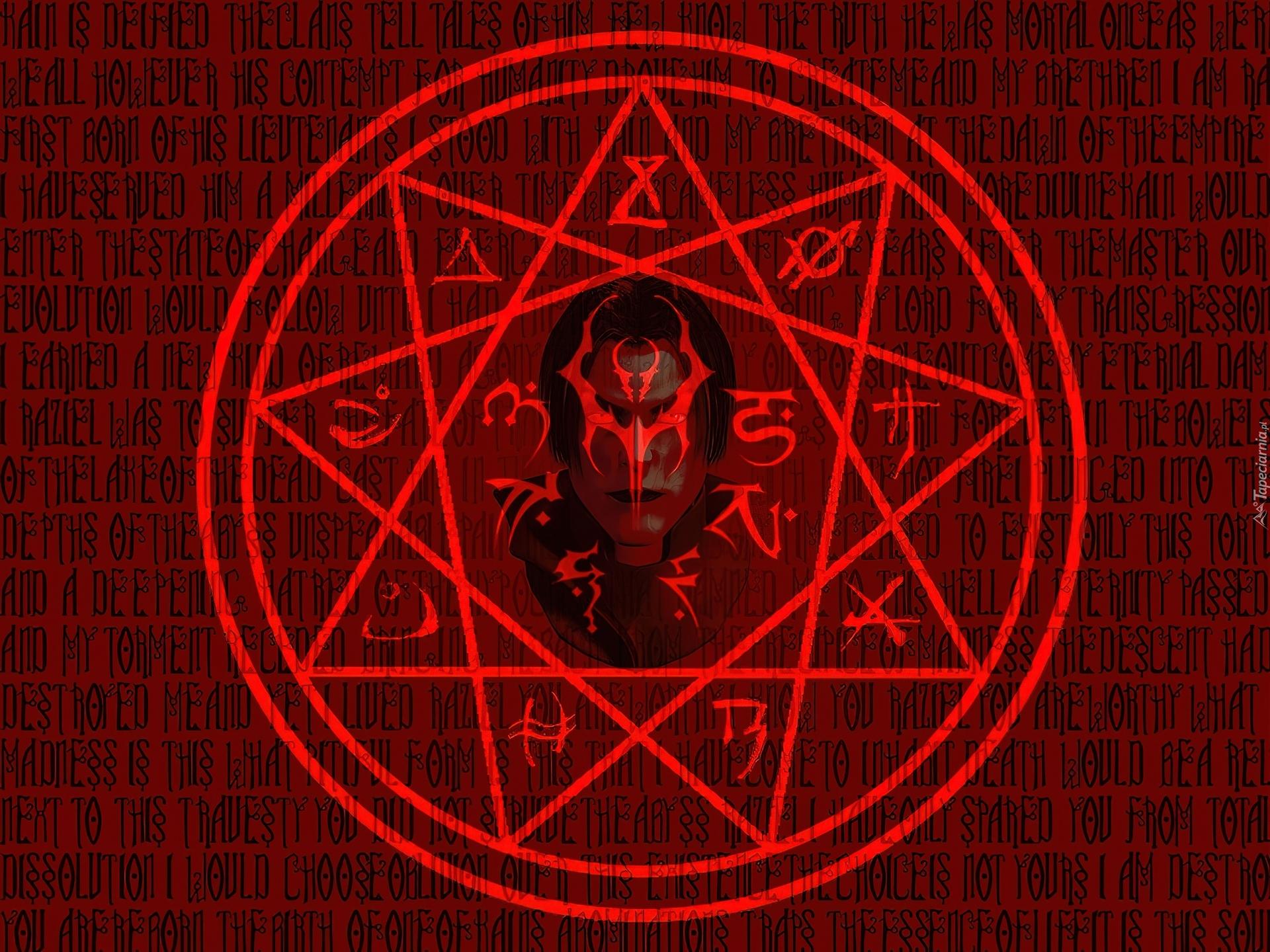 Legacy Of Kain Soul Reaver Logo Gwiazda Okrg Twarz