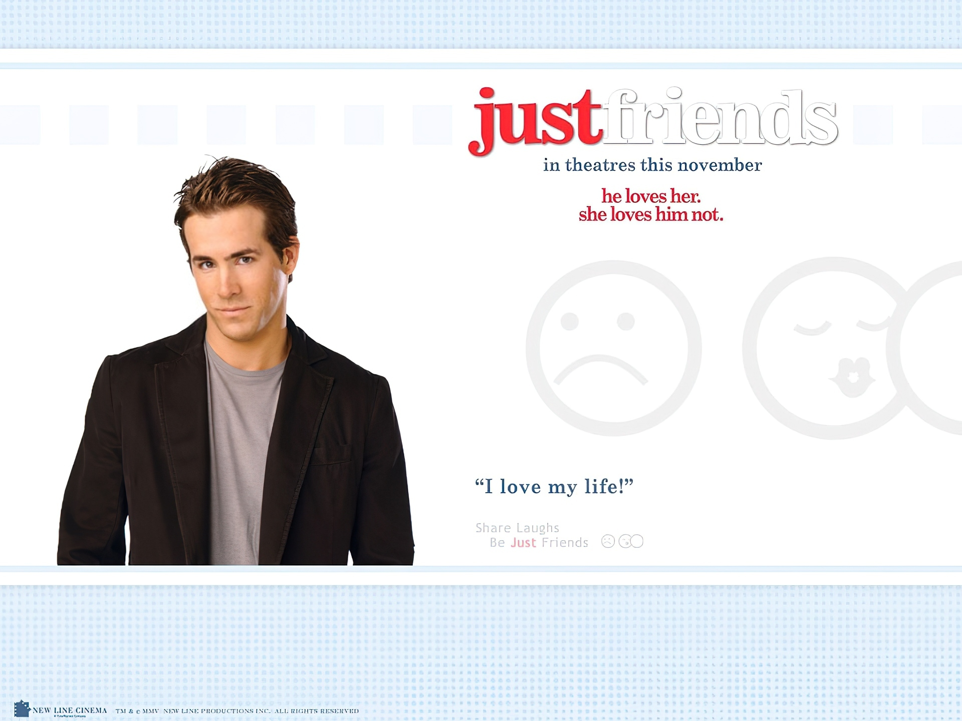 Just Friends, Ryan Reynolds
