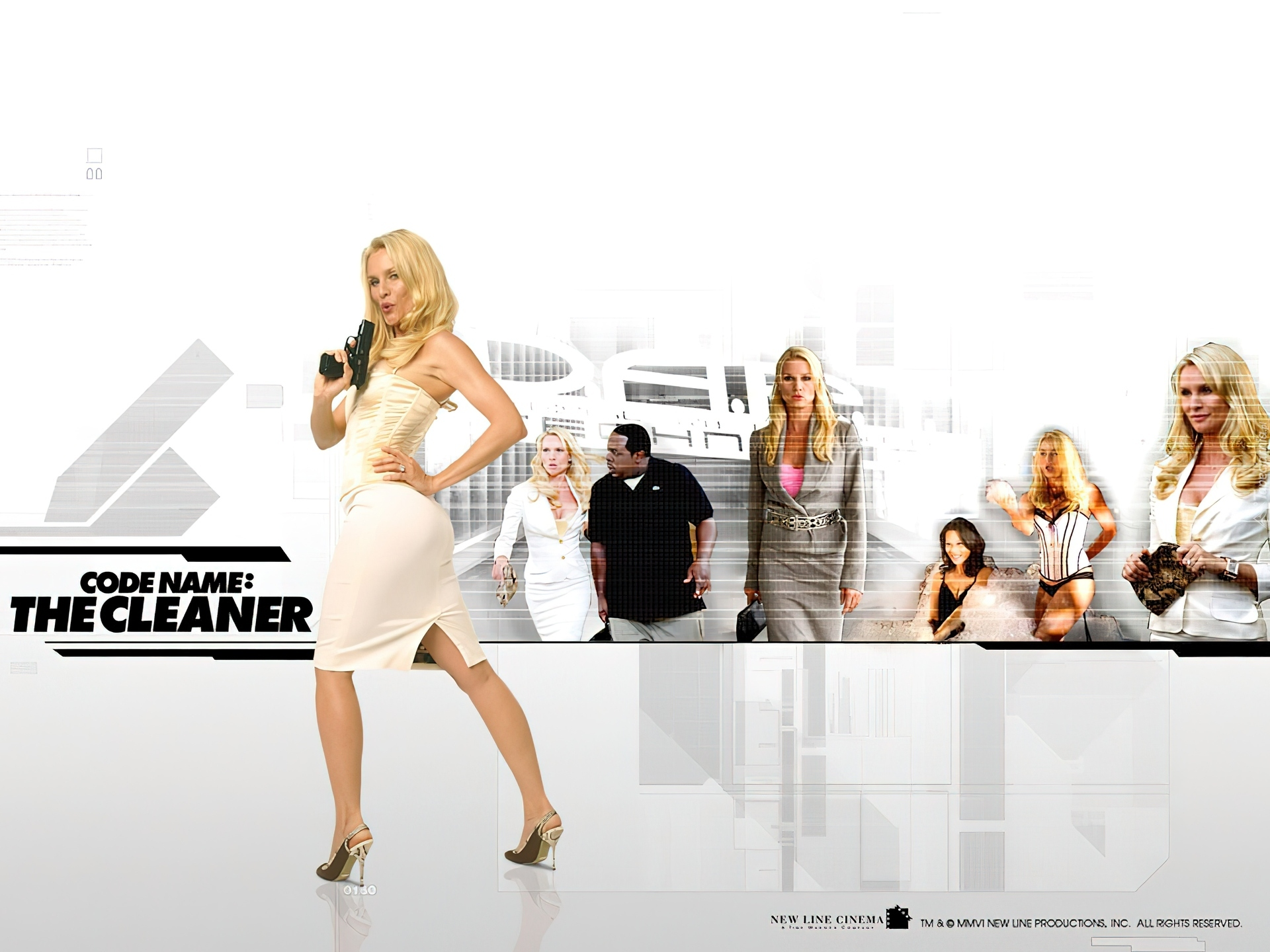 Code Name - The Cleaner, Nicollette Sheridan