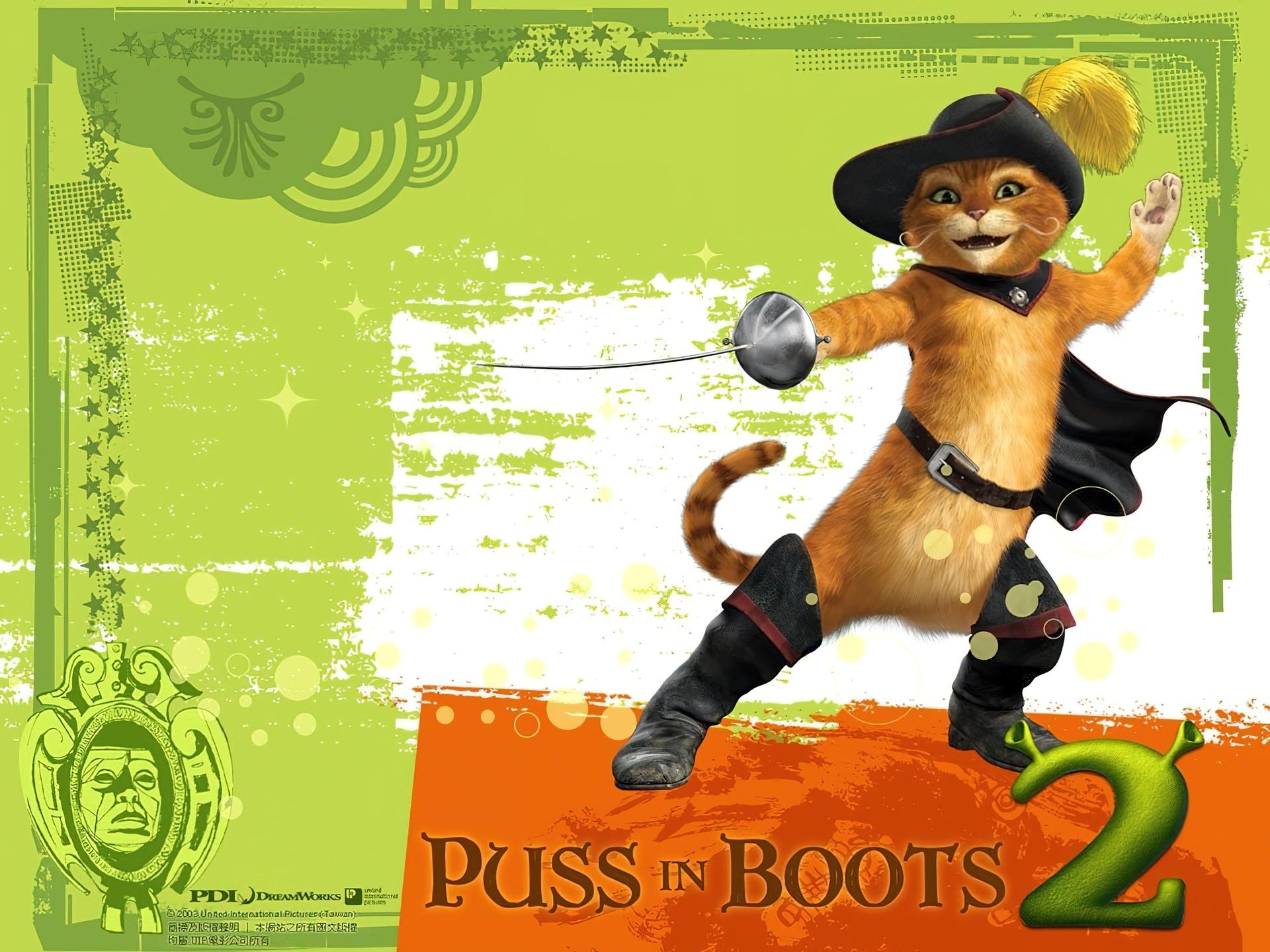 Kot W Butach Shrek 2
