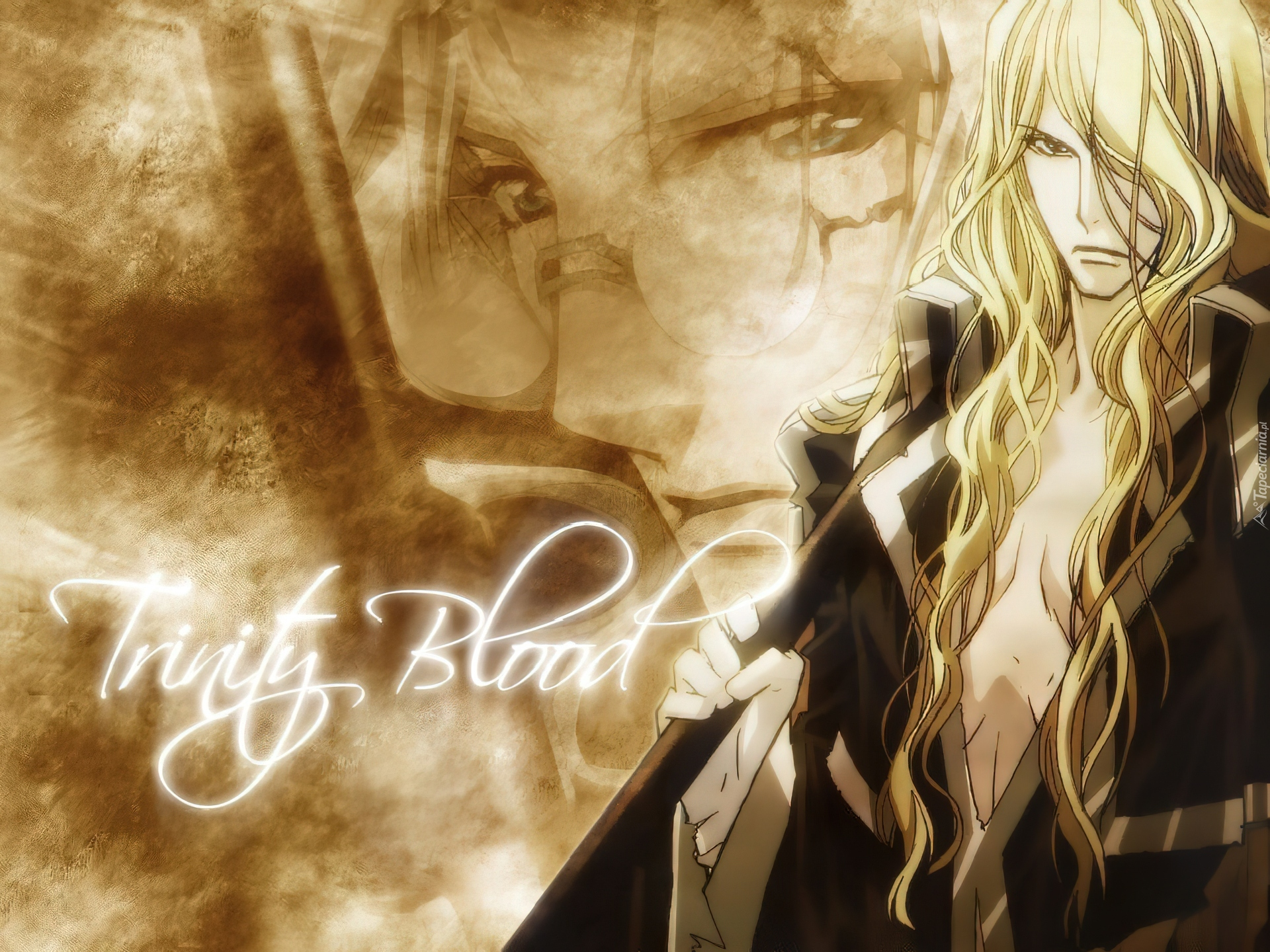 Trinity Blood, blond, włosy