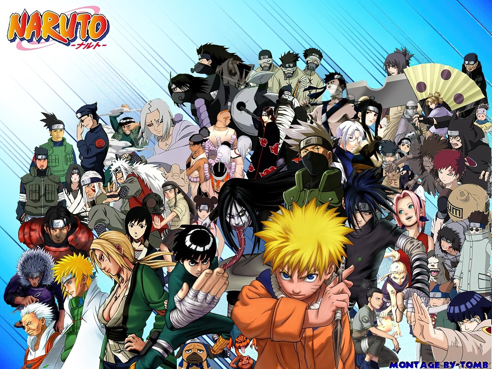 Naruto Wszystkie Postacie