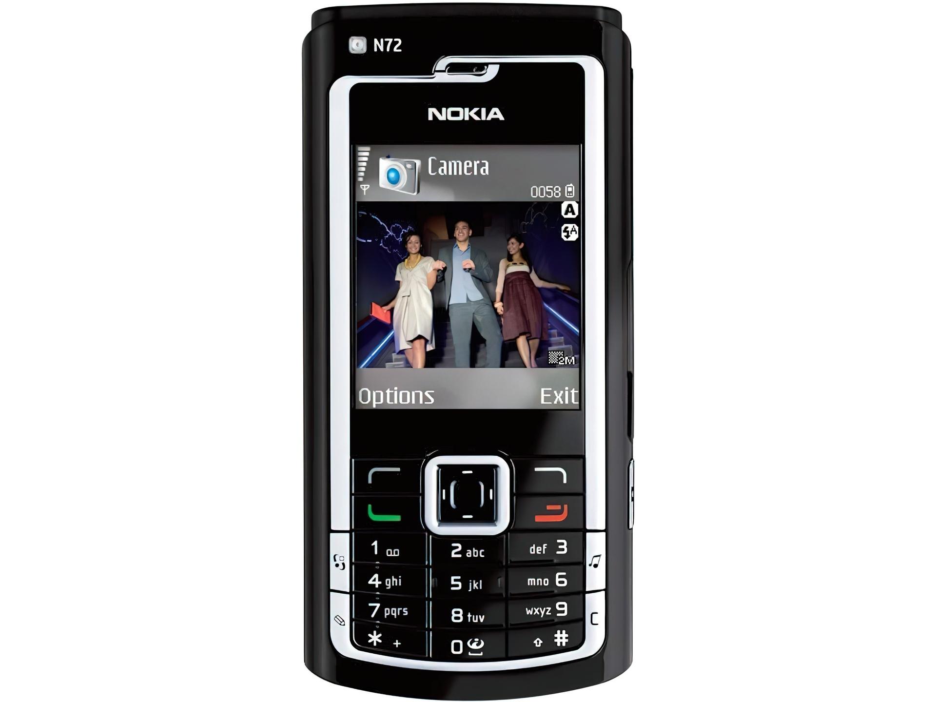 Tapety : Nokia N72