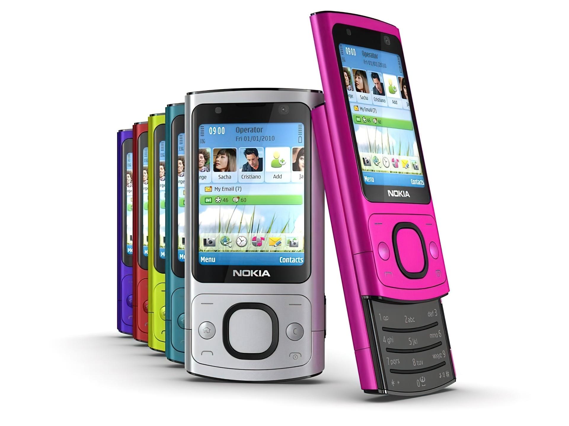 Tapety : Nokia 6700 slide