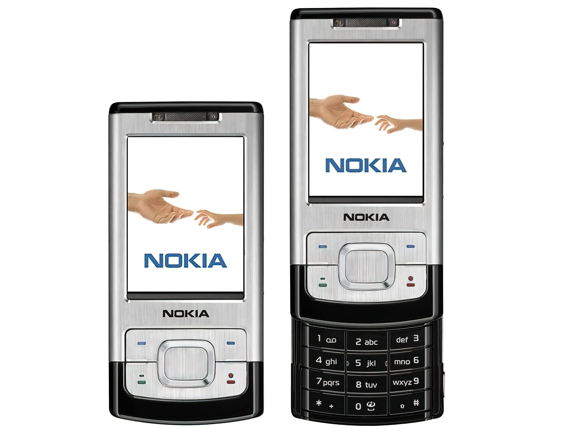 Bardzo Nokia 6500 Slide, Srebrna, Rozsuwana IM-53