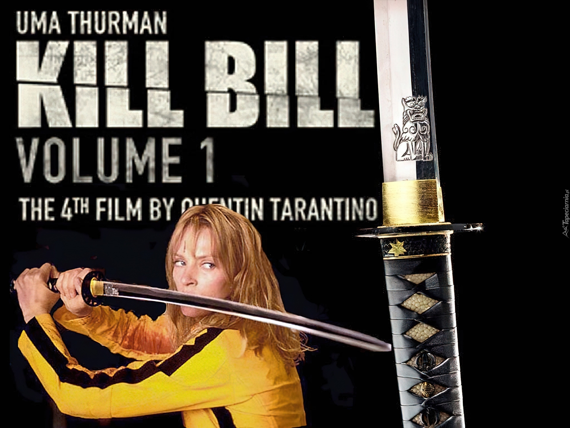 Uma Thurman, Miecz, Kill Bill 1