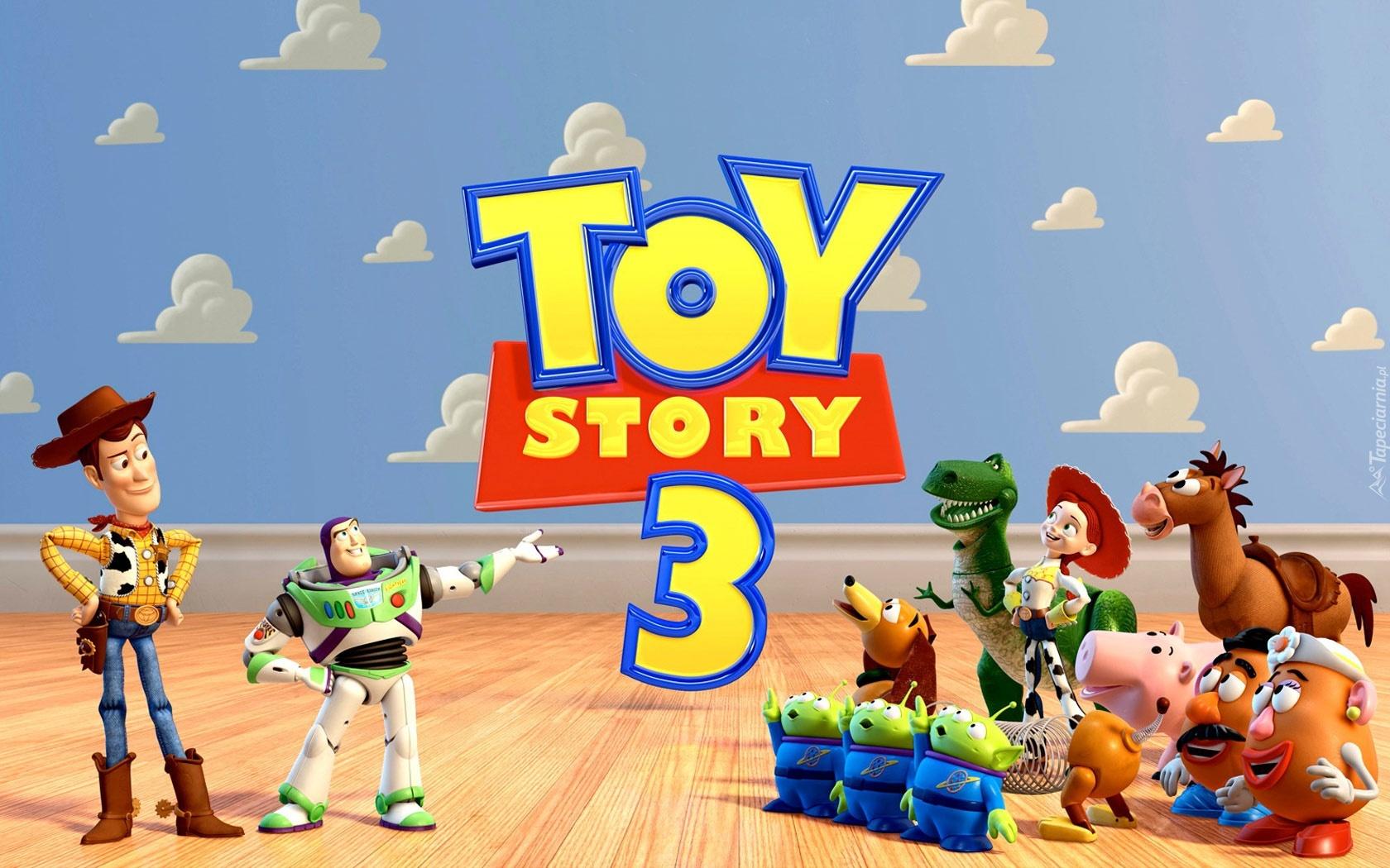 Postacie Toy Story 3