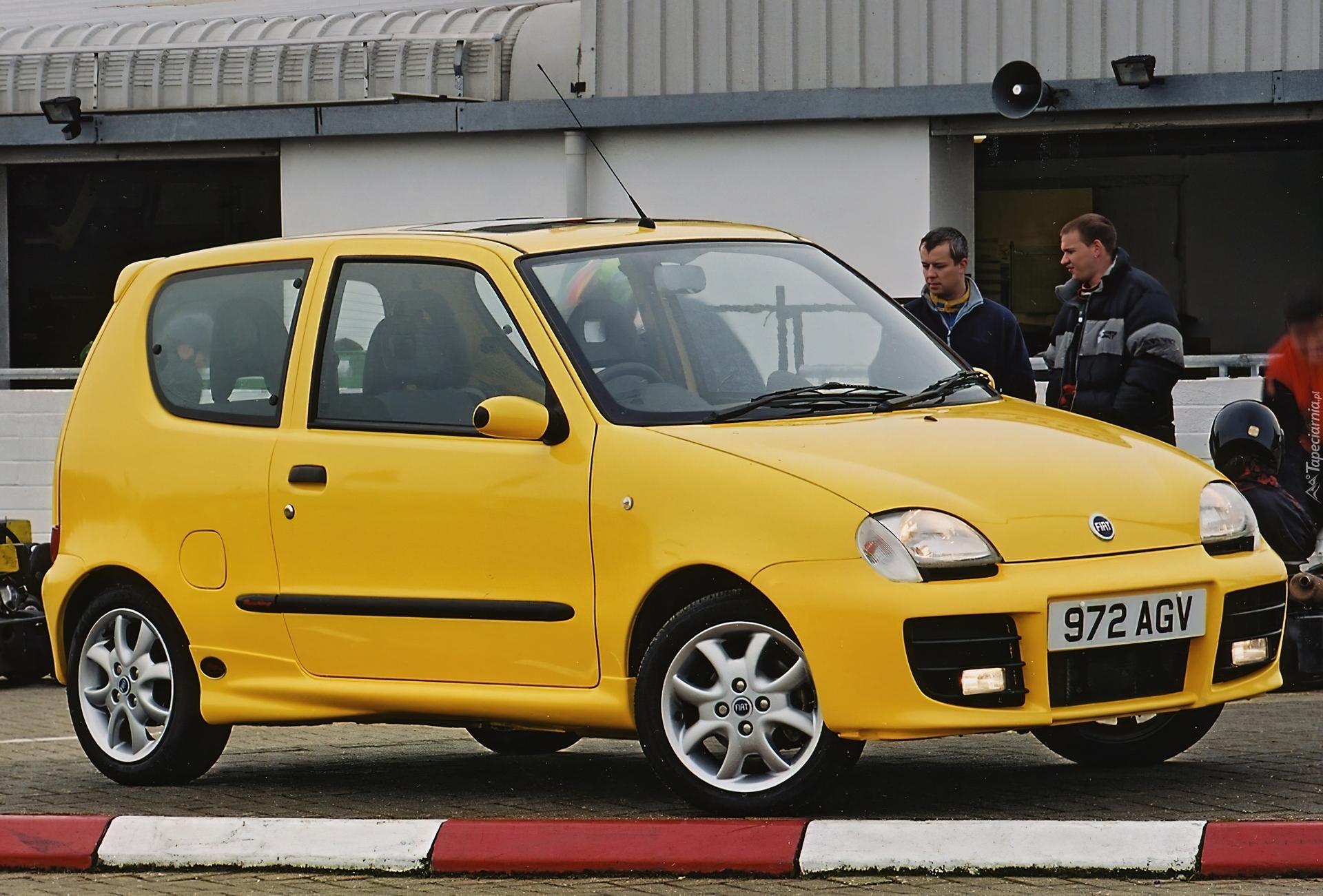 Fiat Seicento Sporting Alufelgi