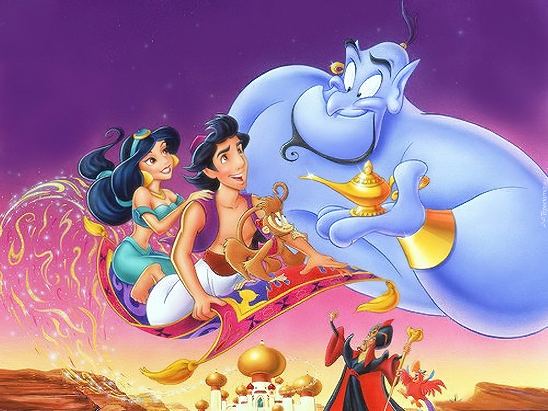 Aladdin Aladyn Latający Dywan