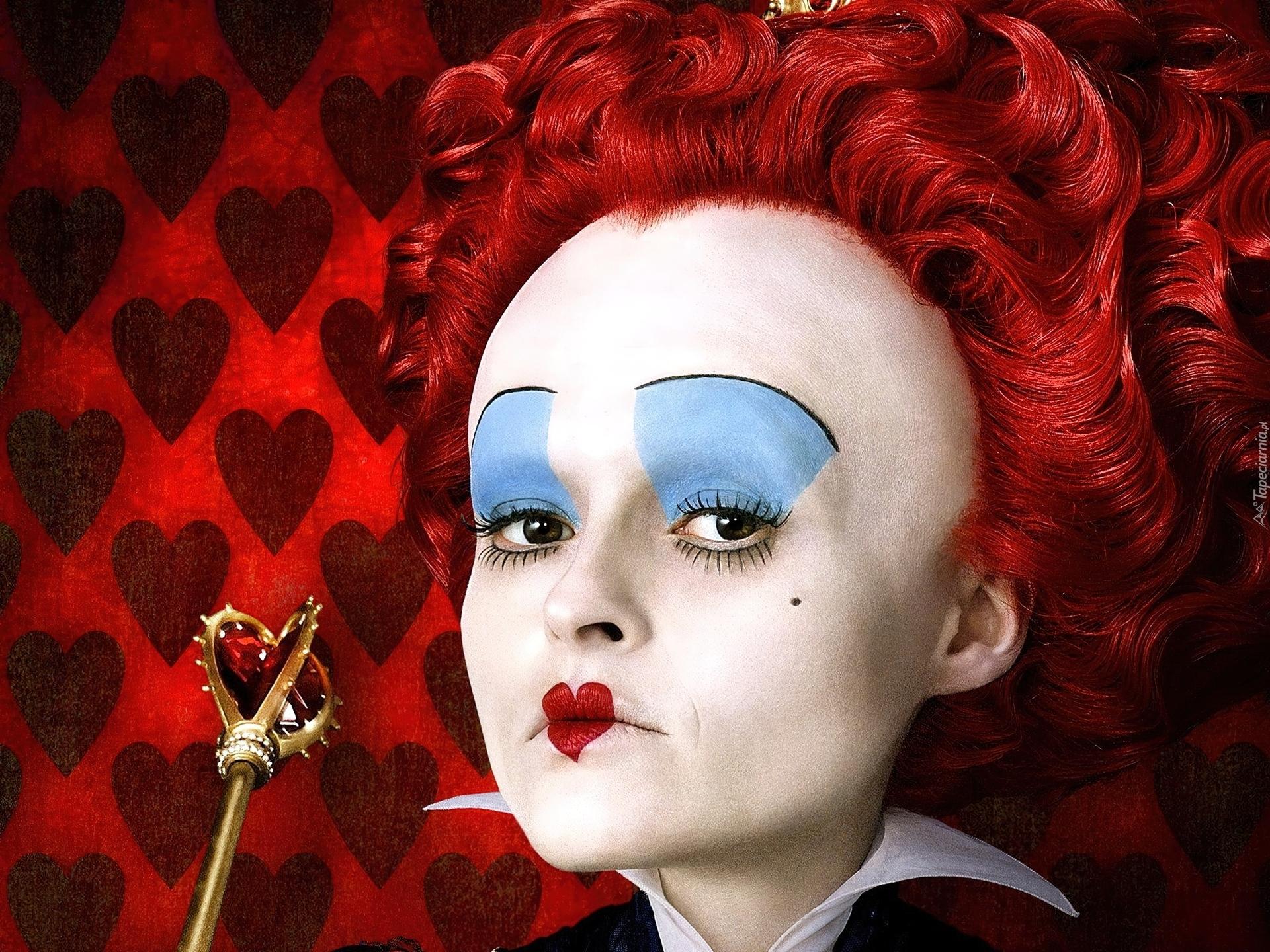 Bajka Alicja W Krainie Czarów Makijaż