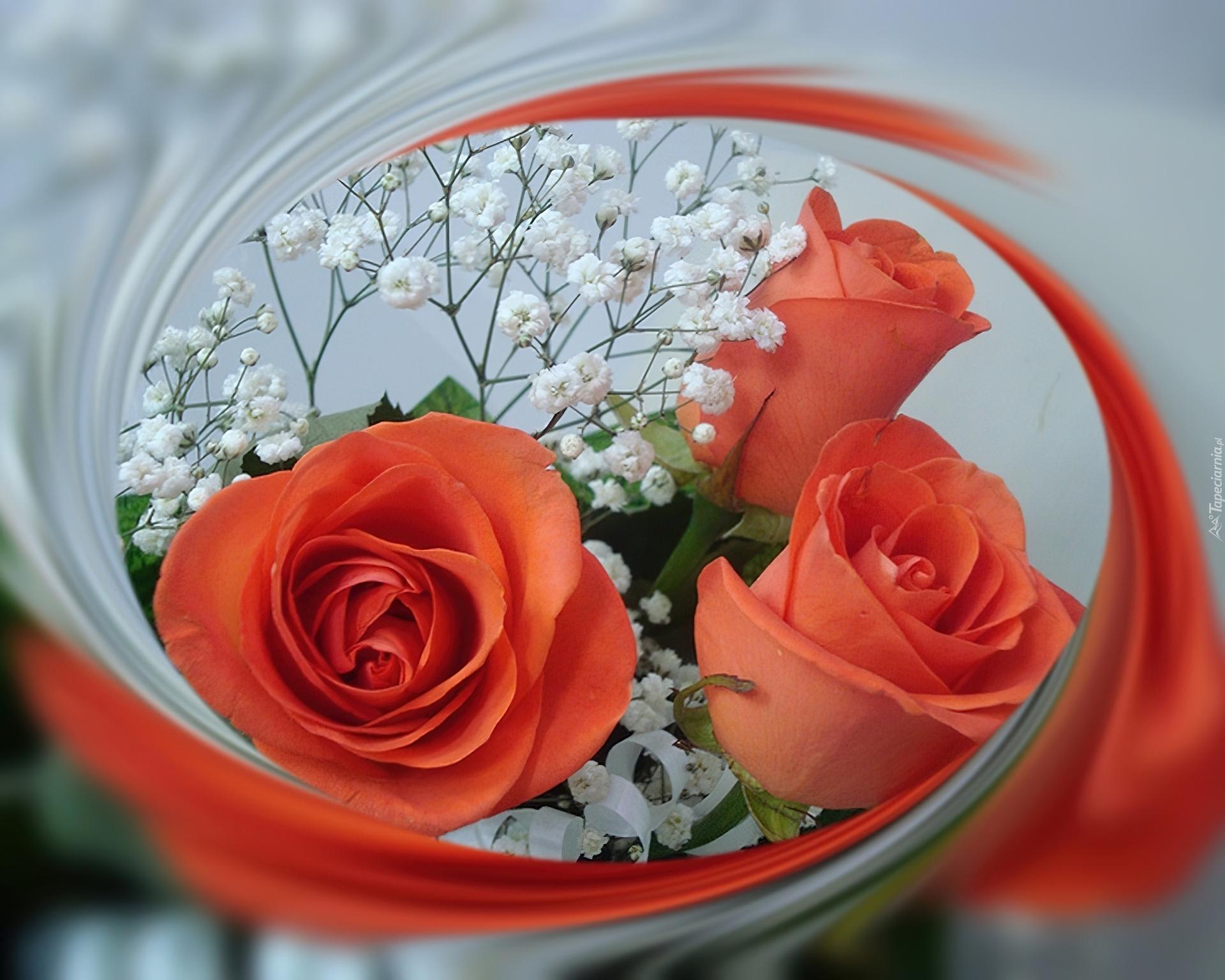 Цветы для подруги мерцающие открытки, день валентина