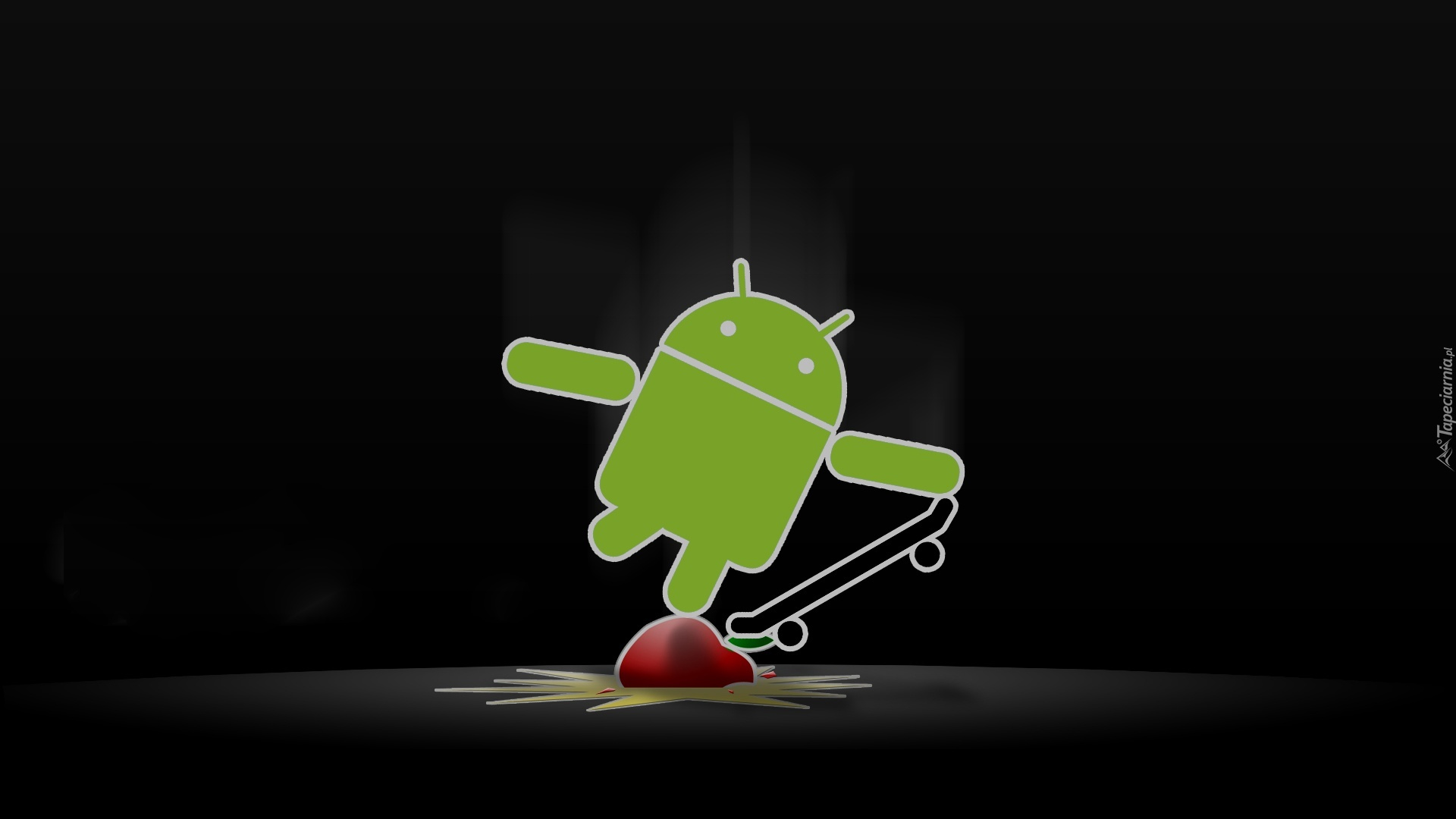 Android, Deskorolka, Apple