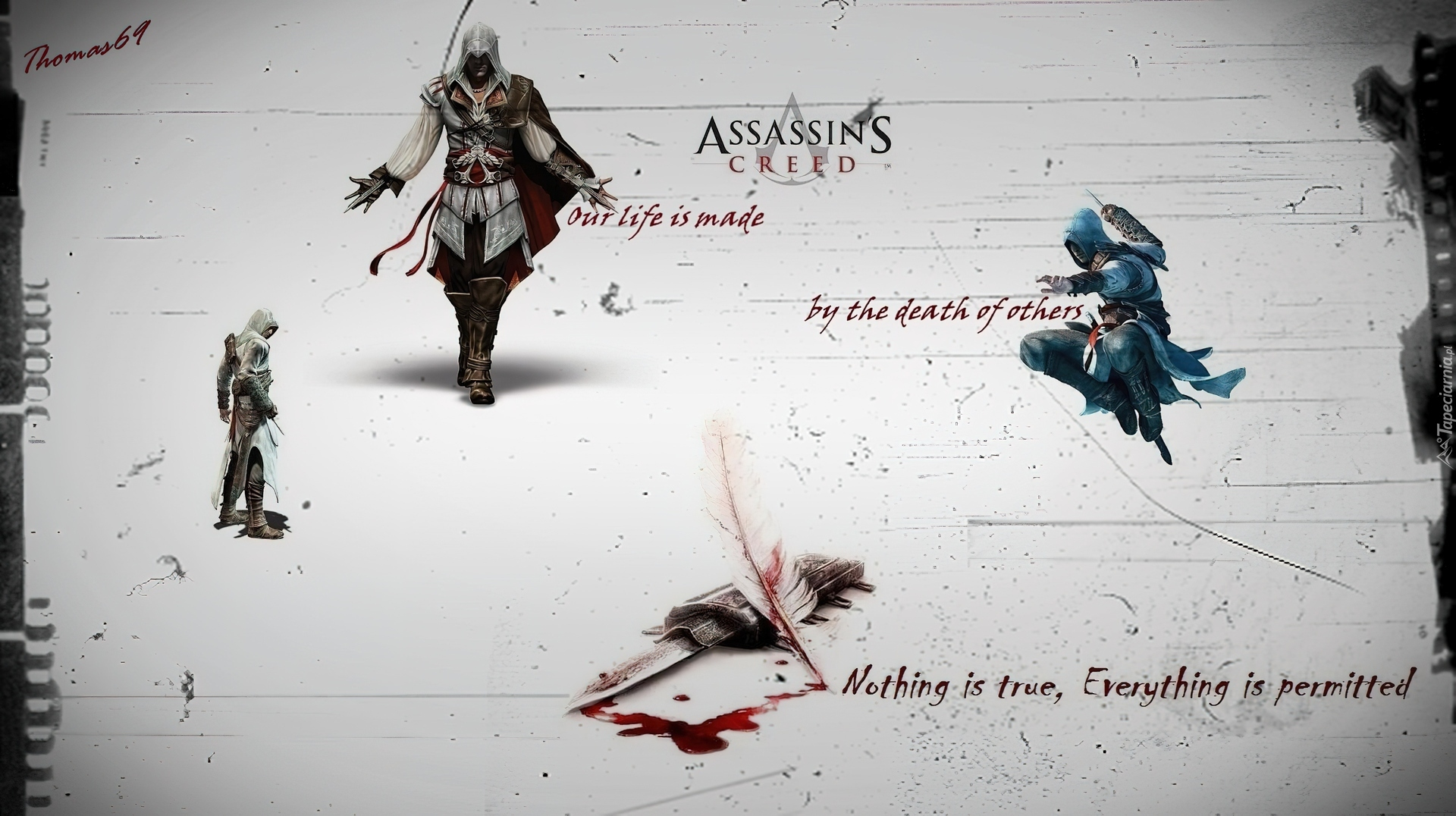 Assassins Creed, Sztylet, Krew