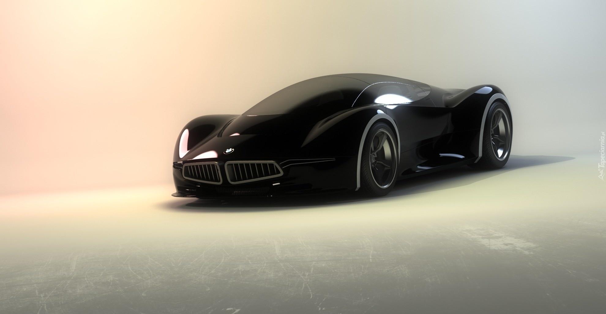 Czarne Bmw Prototyp