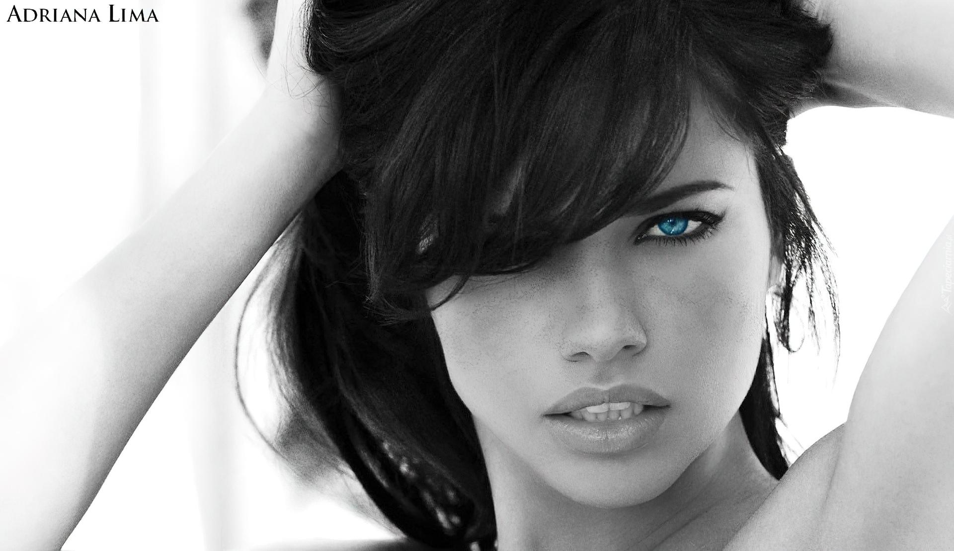 Adriana Lima Fryzura