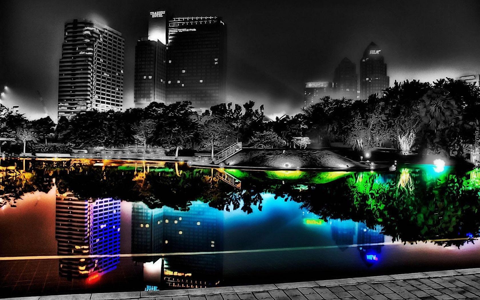 Miasto, Nocą