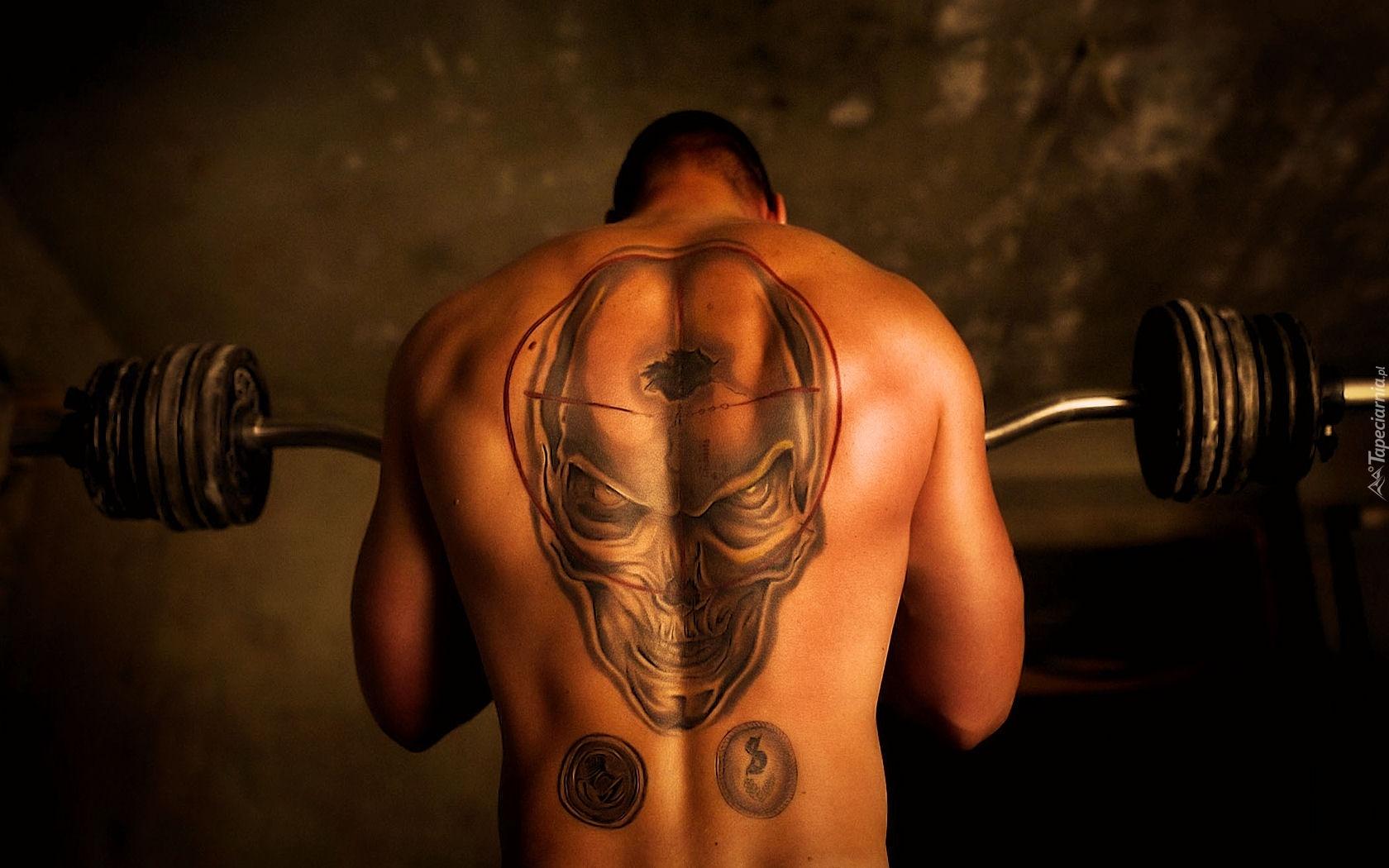 Tatuaż Siłownia Mężczyzna