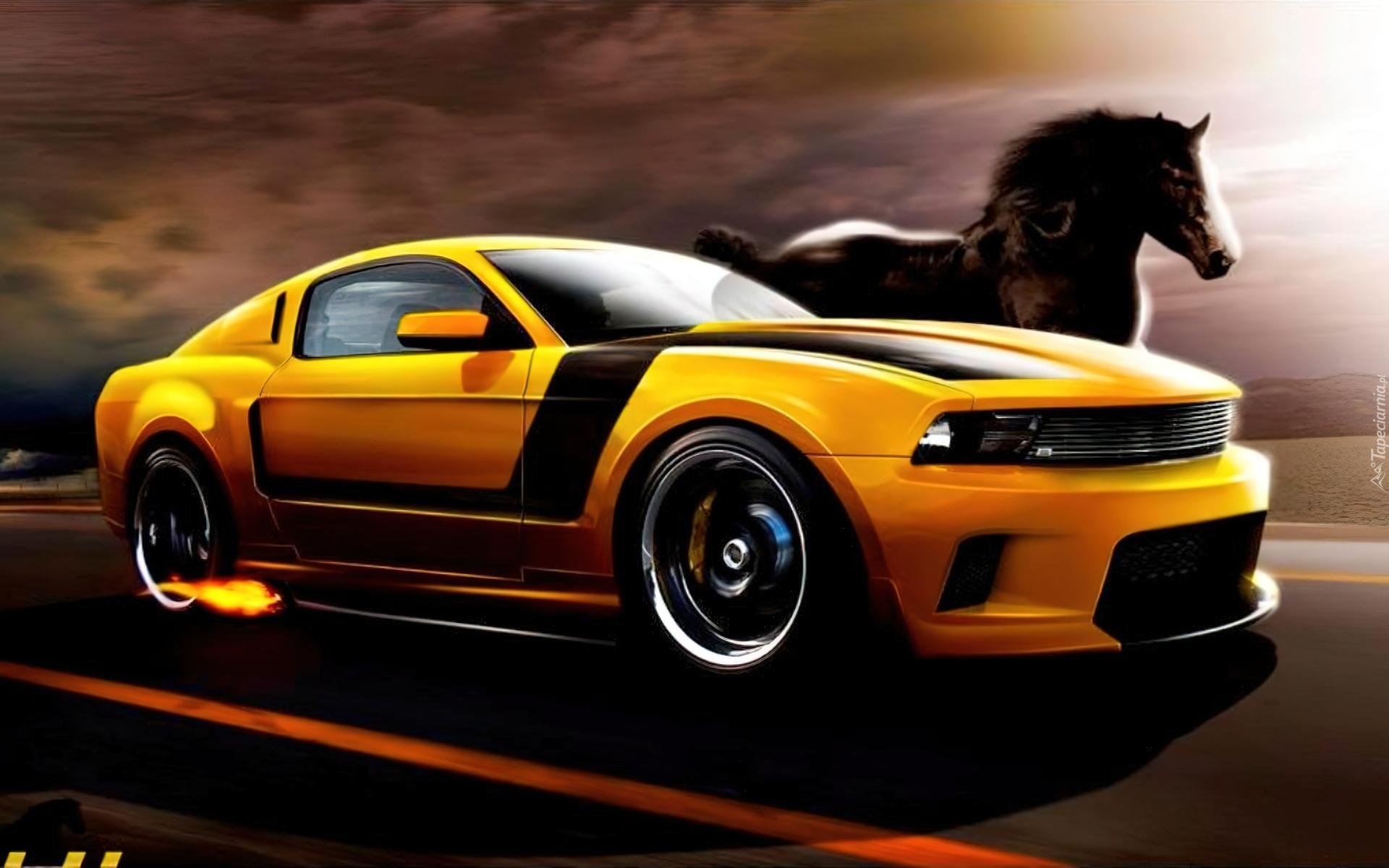 Ford Mustang, Kontra, Koń