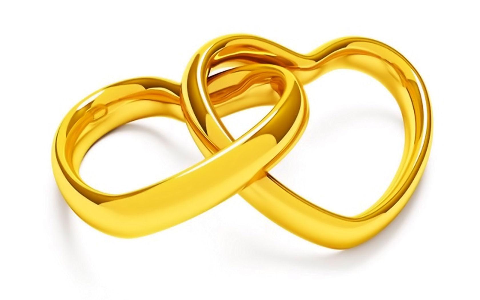 Matrimonio Catolico Caricatura : Dwa złote serca