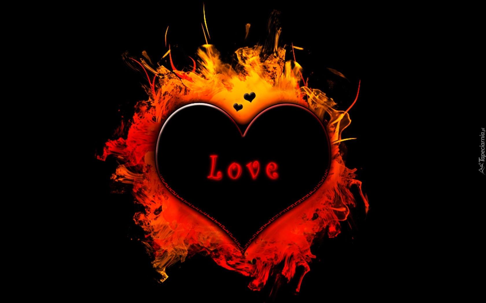Serce napis love - Y k love wallpaper ...
