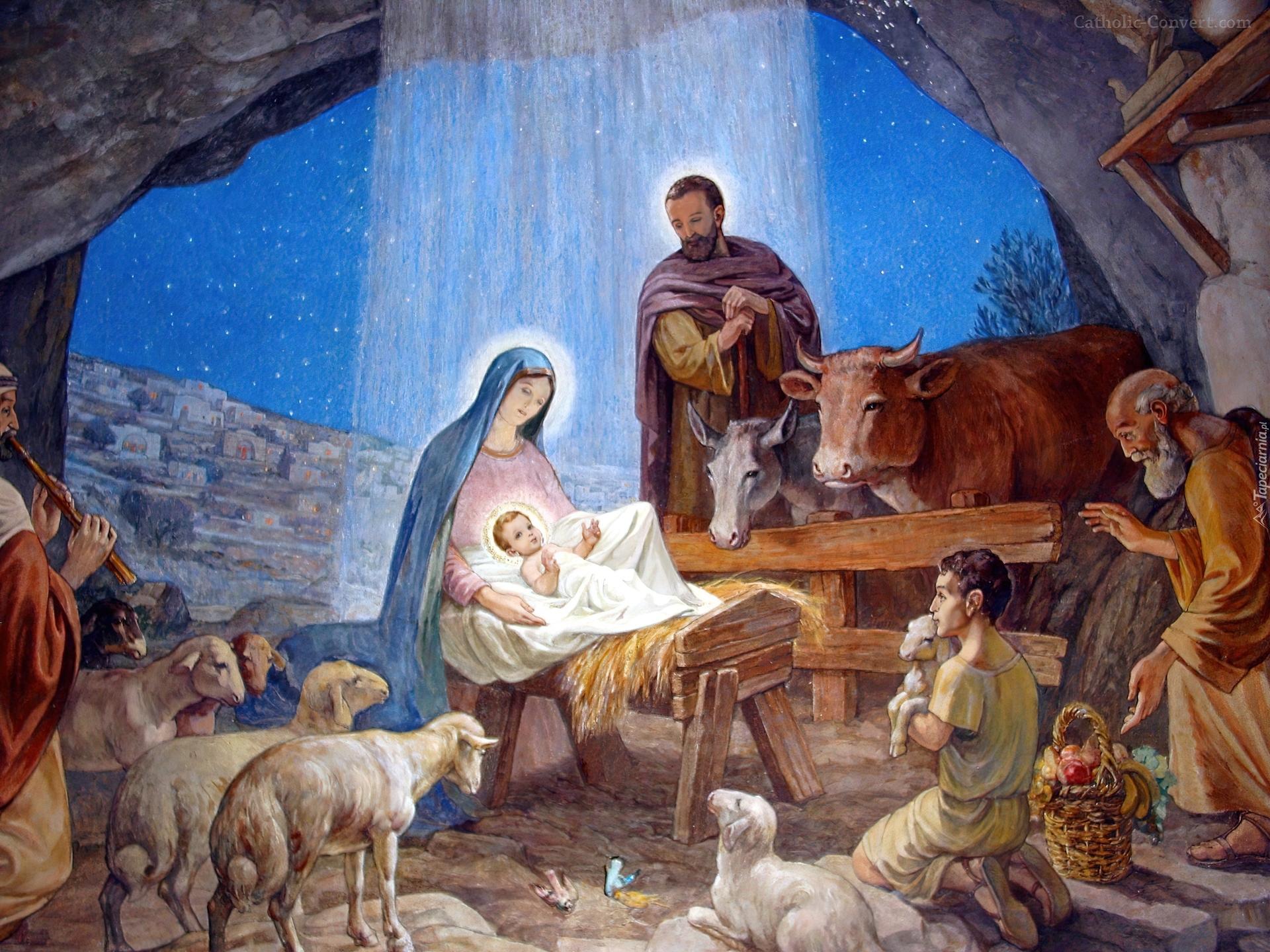 Znalezione obrazy dla zapytania Narodzenie Pańskie