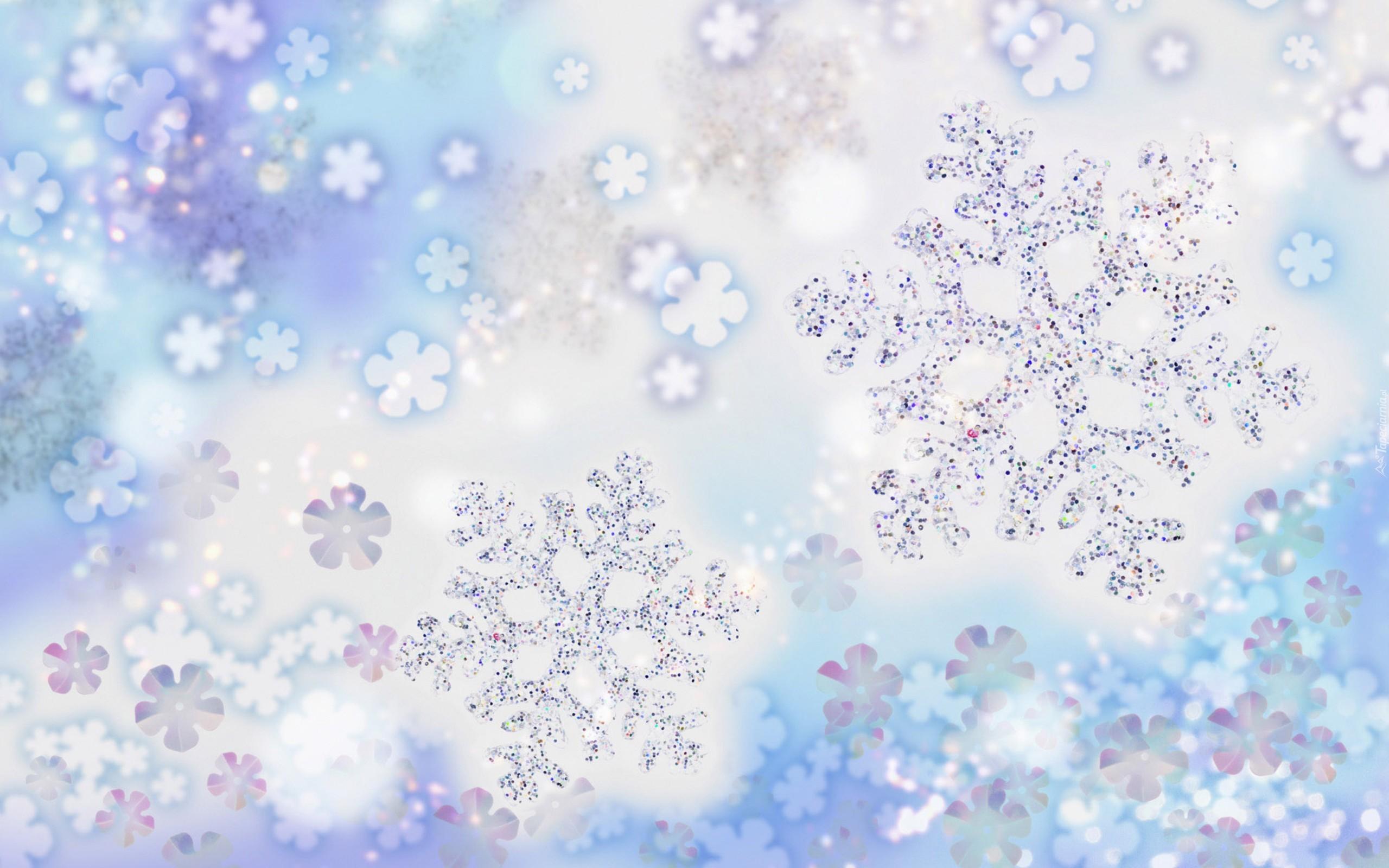 Płatki, Śniegu