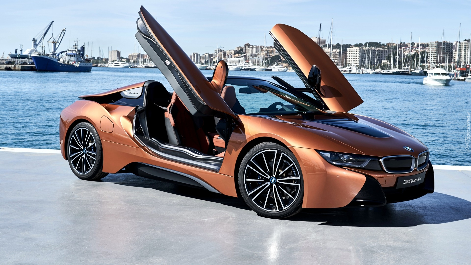 BMW i8 Roadster, 2018, Port