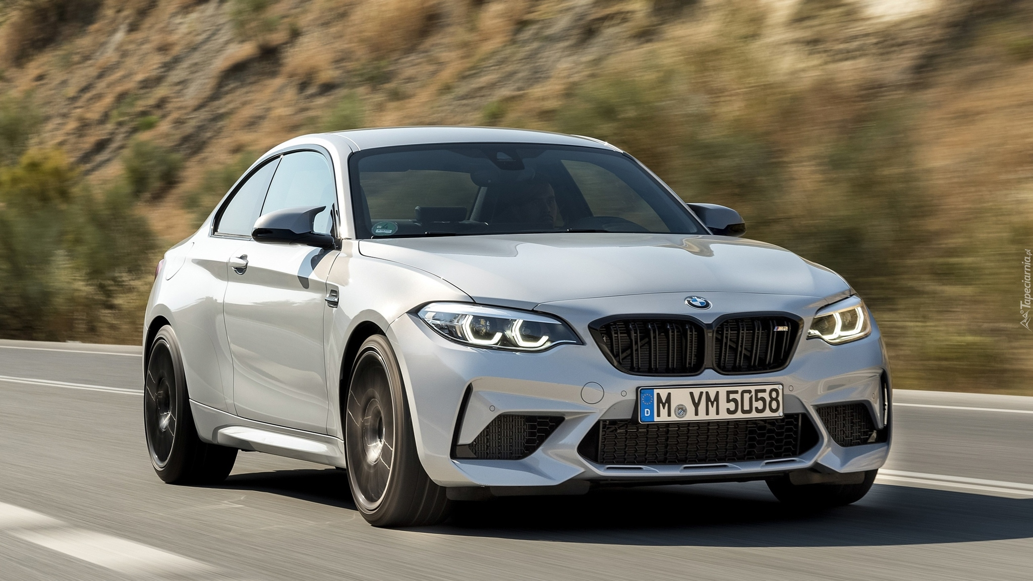 BMW M2 Competition, 2019, Droga