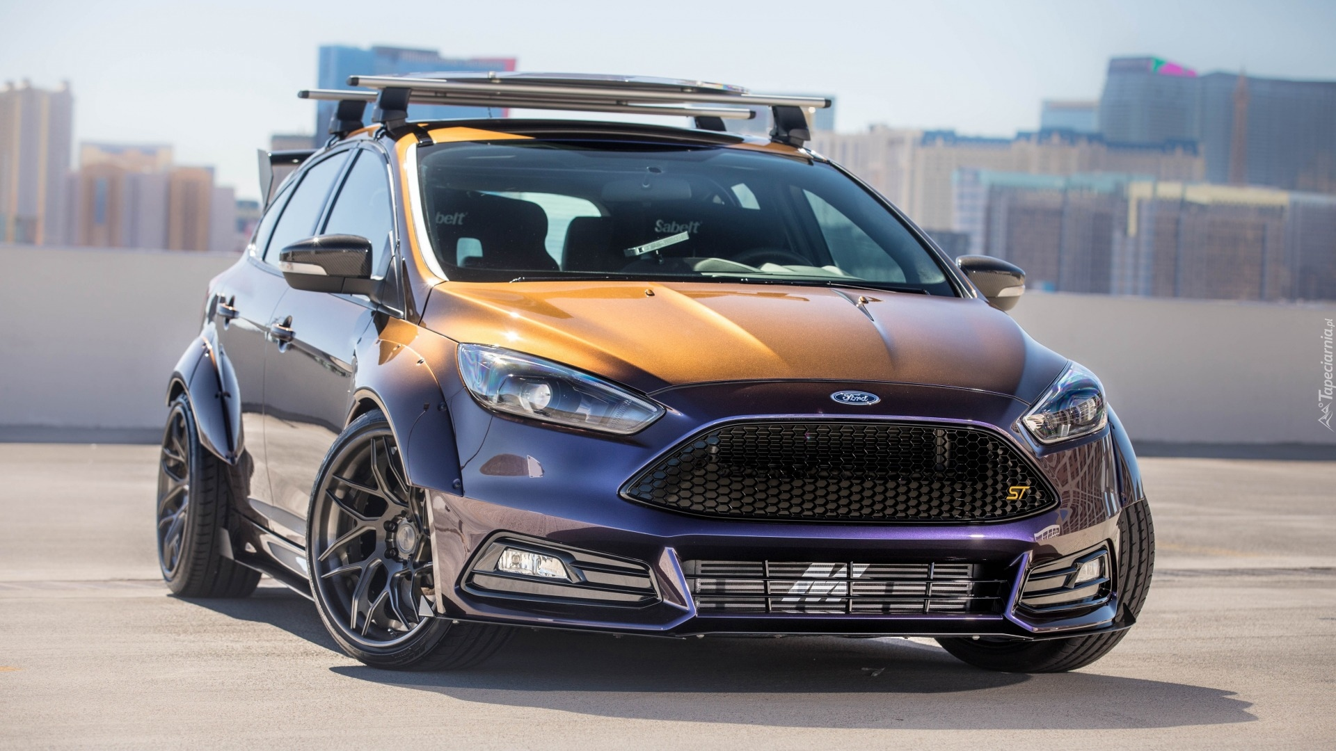 Ford Focus St By Blood Type Racing 2017