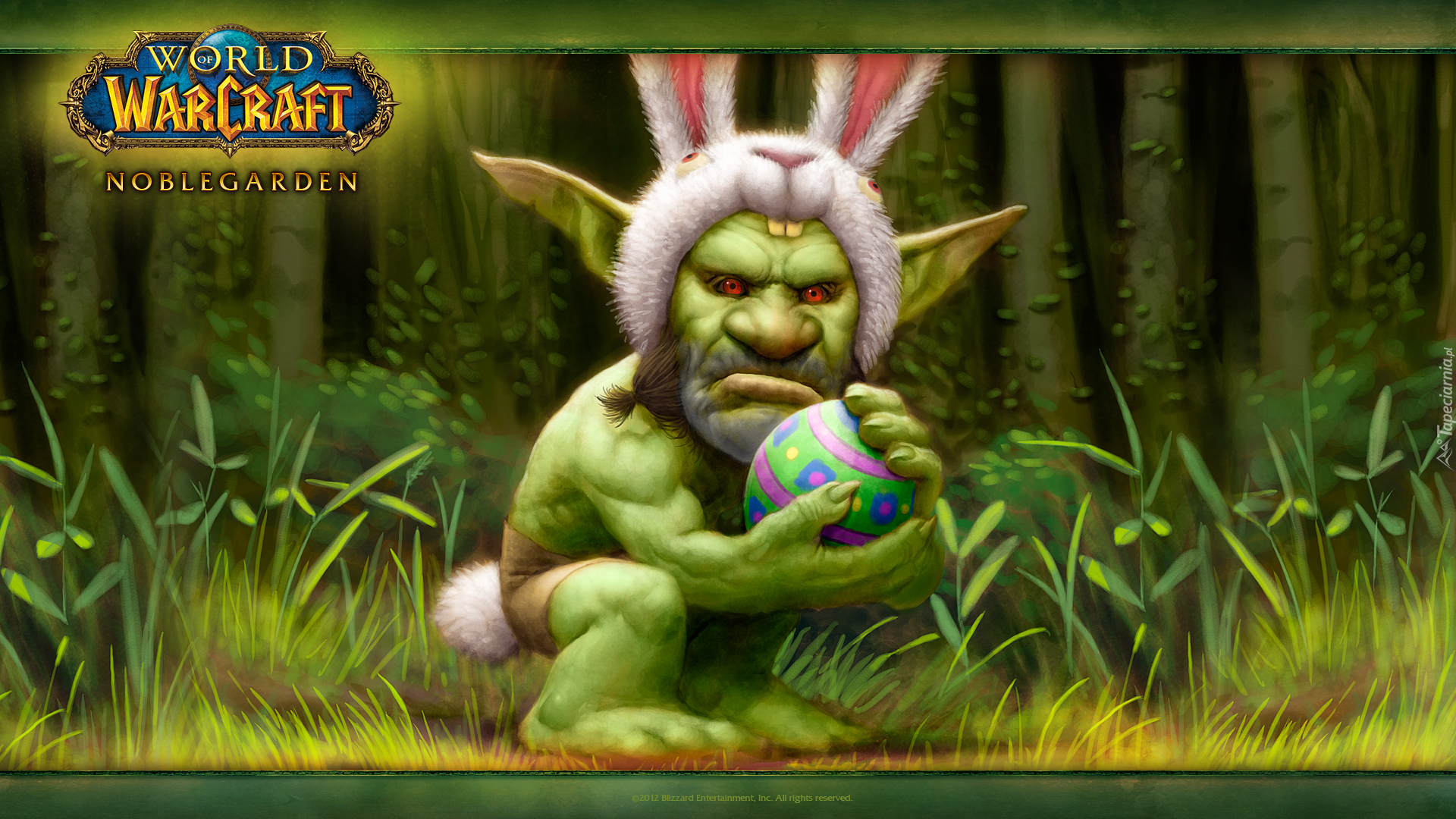 Gra, World of Warcraft Noblegarden, Goblin, Królik, Pisanka
