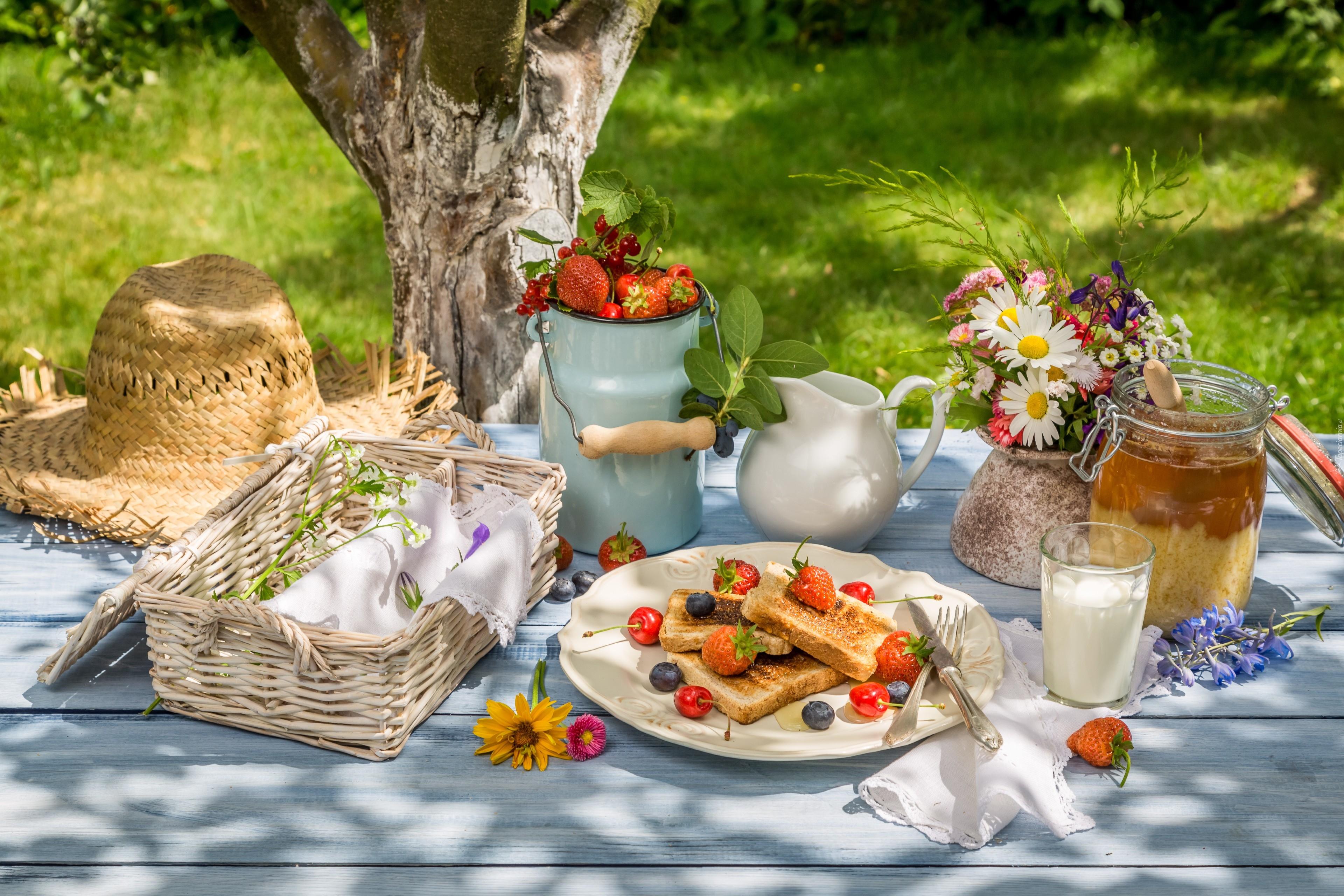домов завтрак на природе фото семье