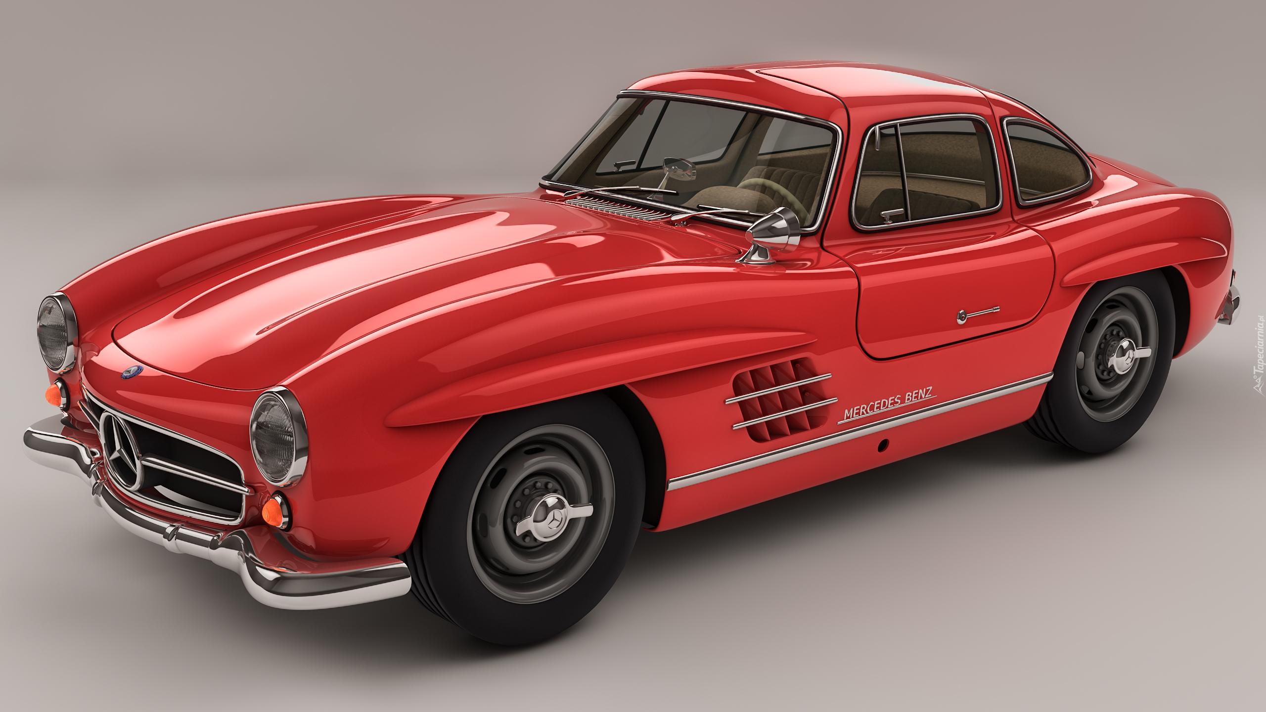 Mercedes benz 300 sl gullwing w198 z lat 1954 57 for 57 mercedes benz
